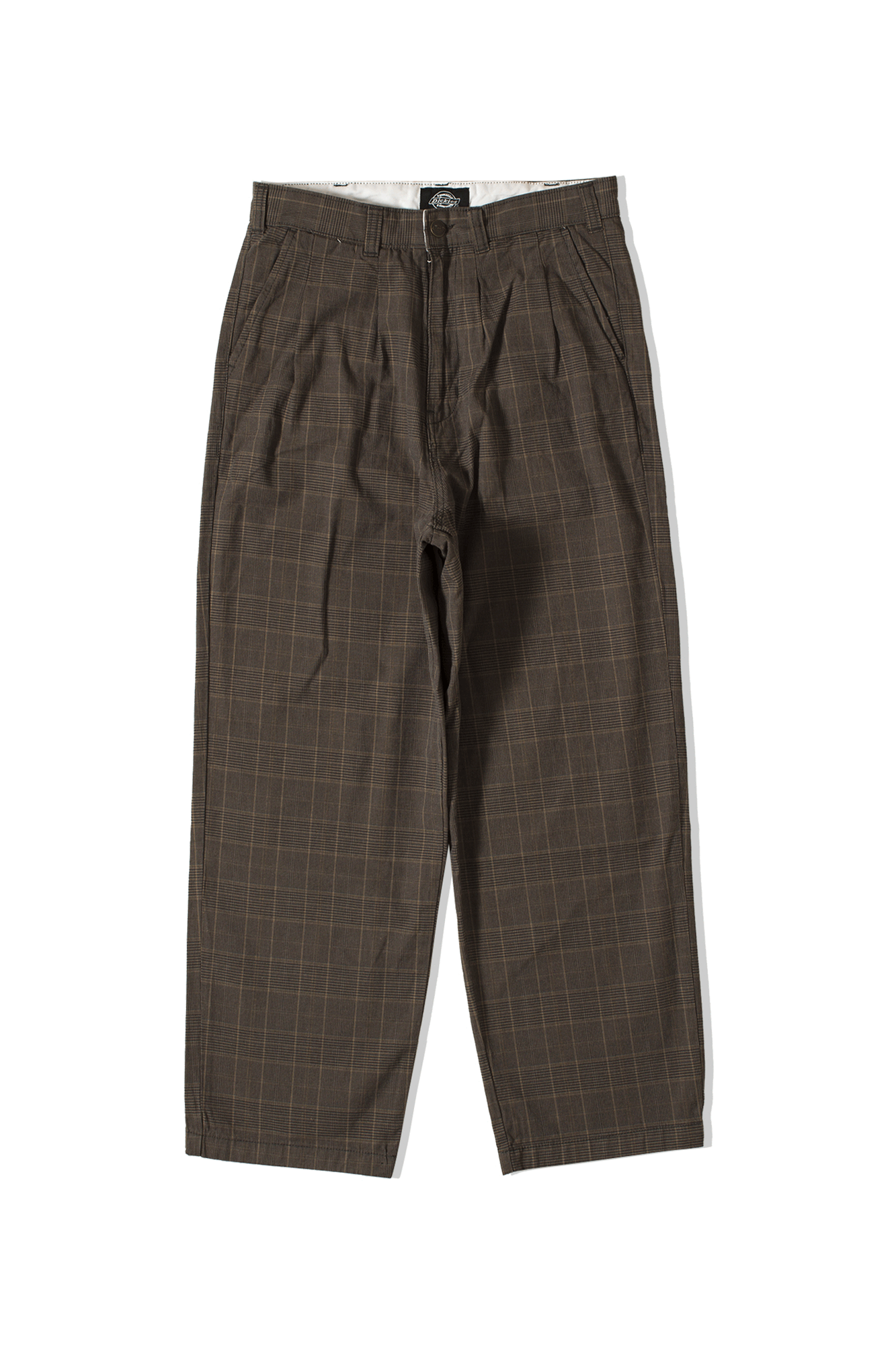 Dickies Trousers Artemus Brown 684190027#000#DB#31/30 - One Block Down