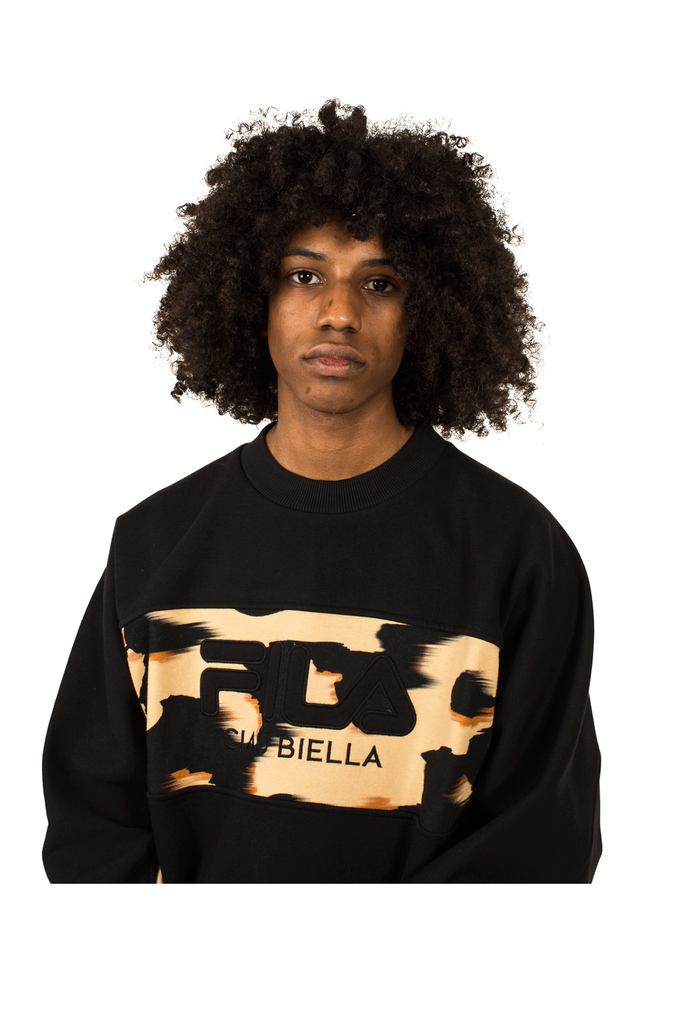 Fila Sweaters Giorgio X One Block Down Black 688161#000#A983#S - One Block Down