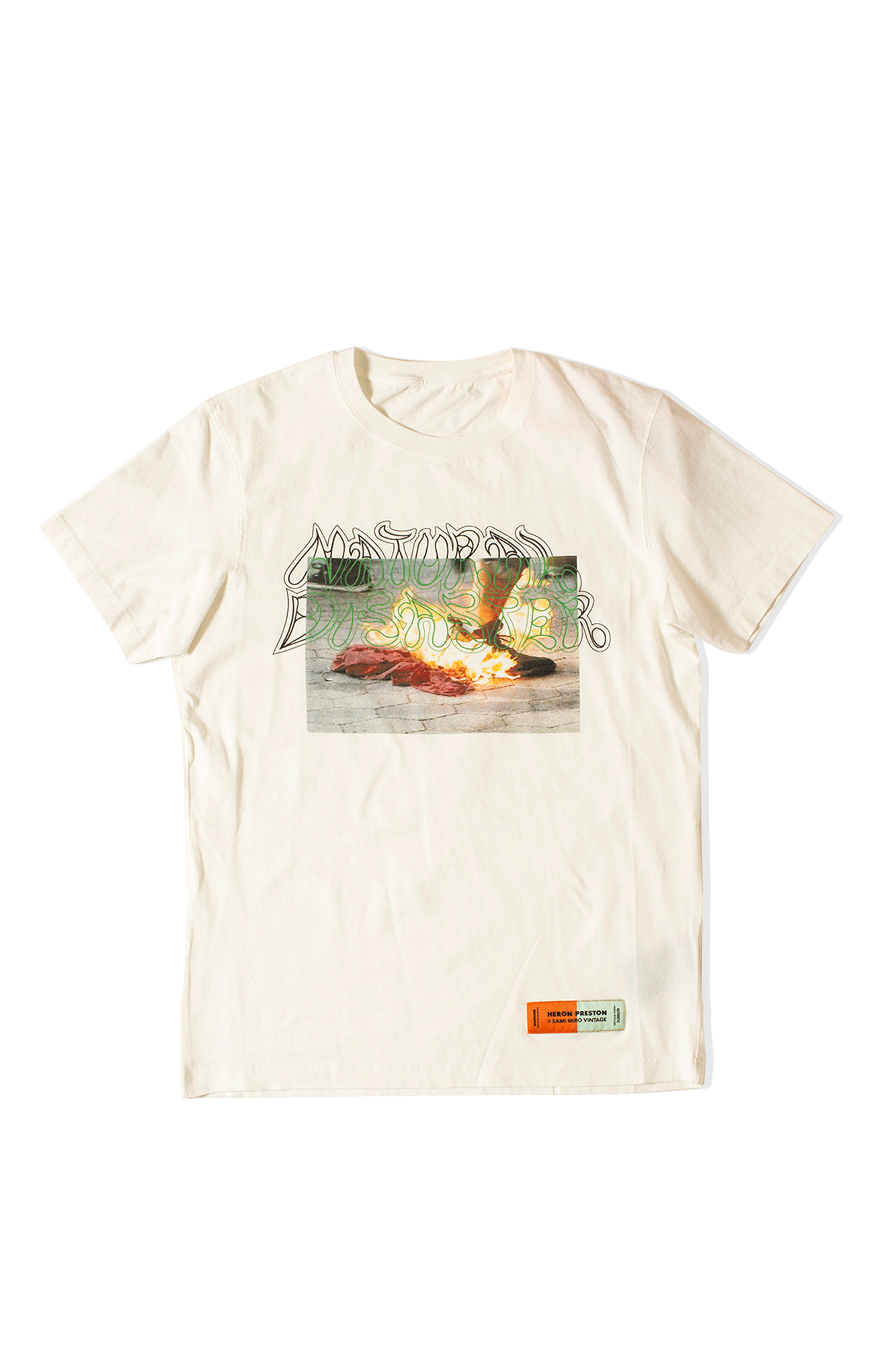 Heron Preston X Sami Miro T-Shirt White
