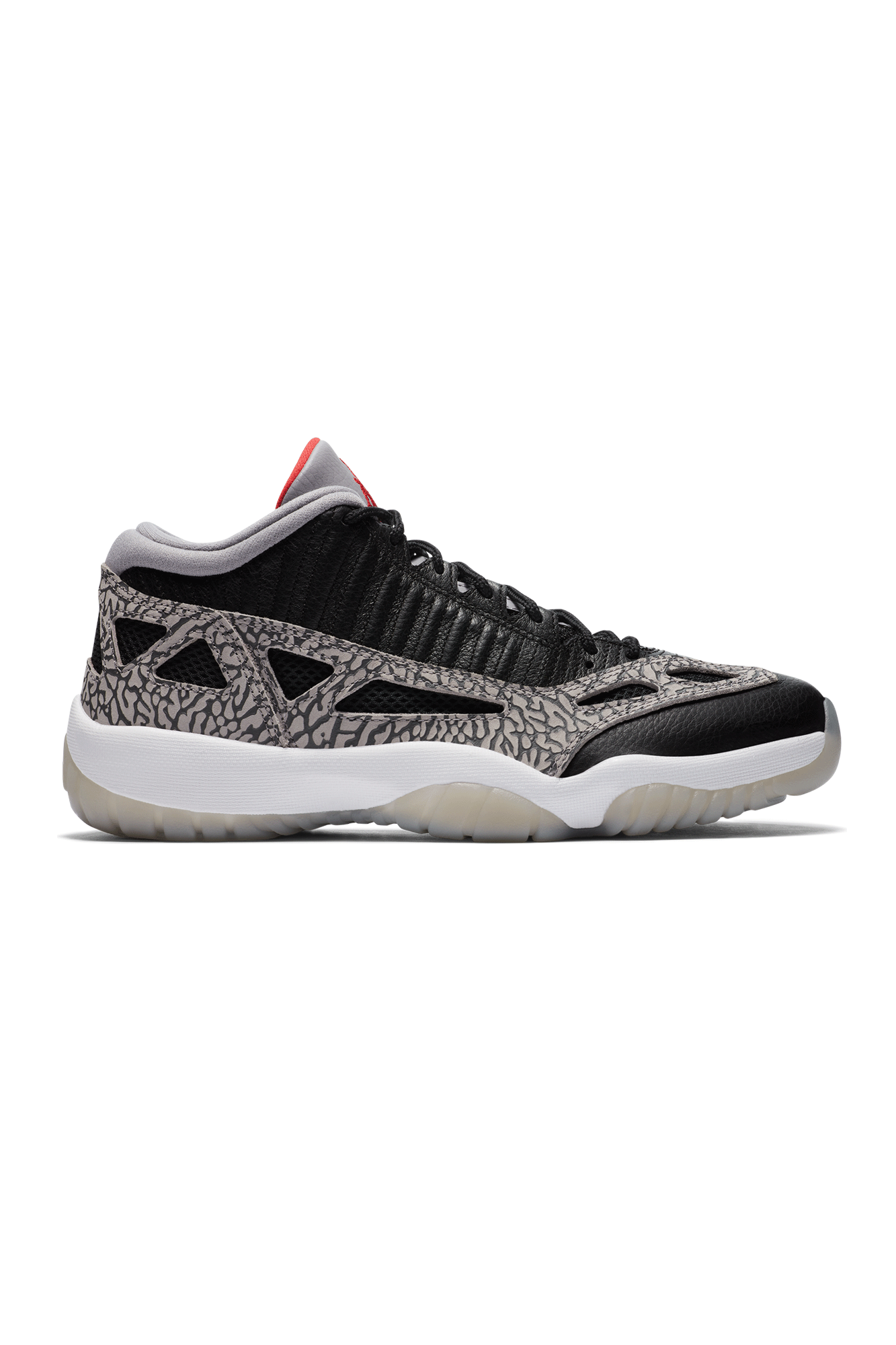 "Jordan Brand Sneakers 11 Retro Low I.E: ""Black Cement"" Black 919712-#000#006#7 - One Block Down"