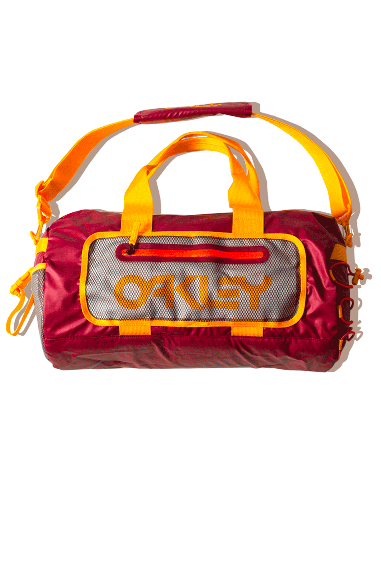 90's Small Duffle Bag Red