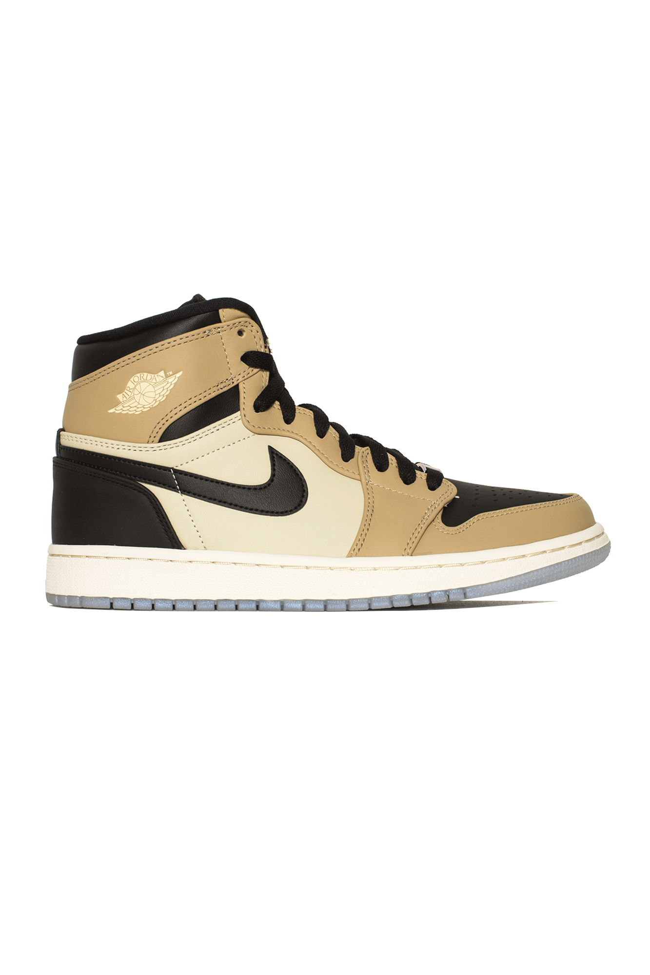 "WMNS 1 Retro High ""Mushroom"" Black"