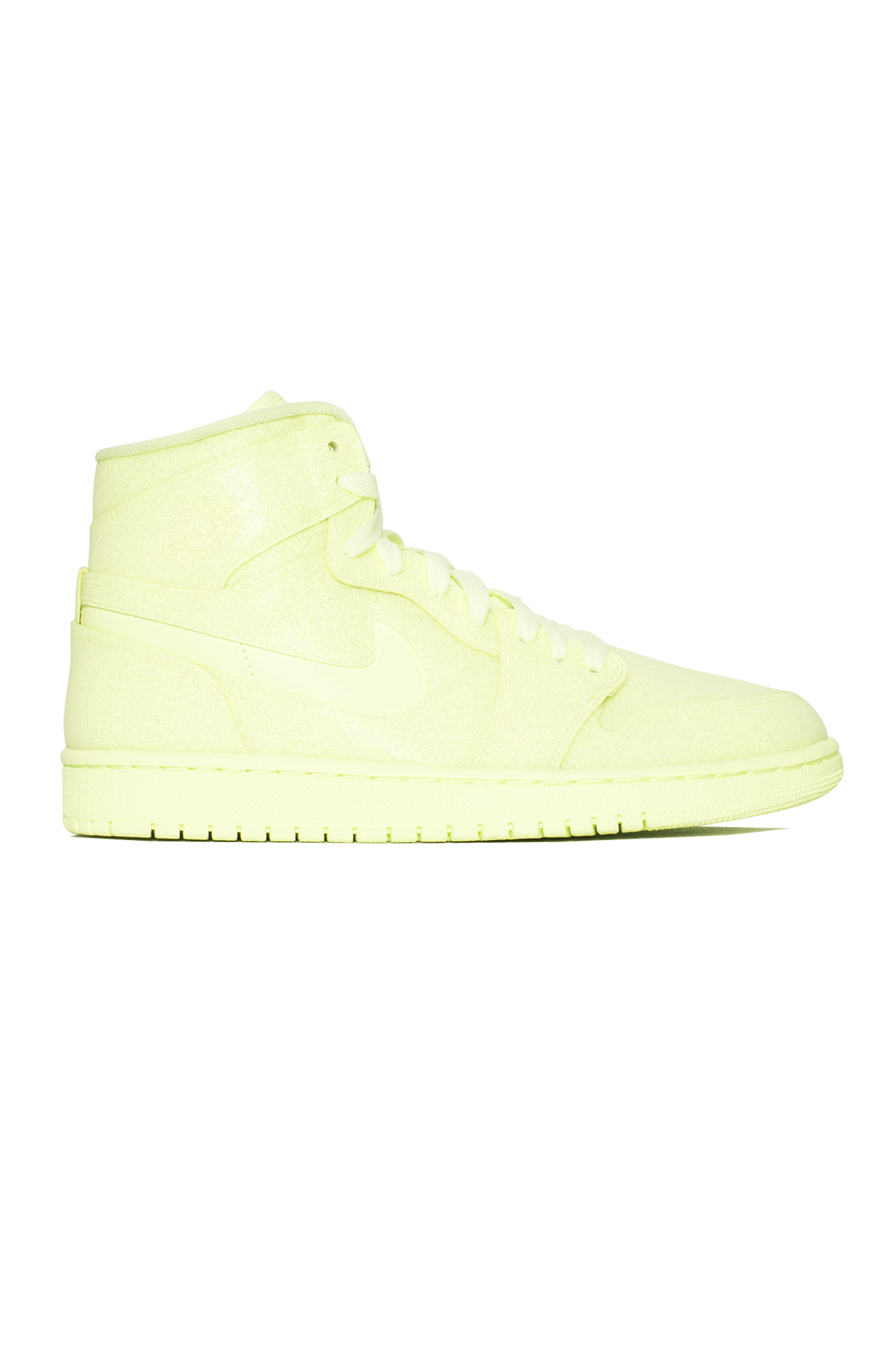 "WMNS 1 Retro HI Premium ""Barely Volt"" Yellow"