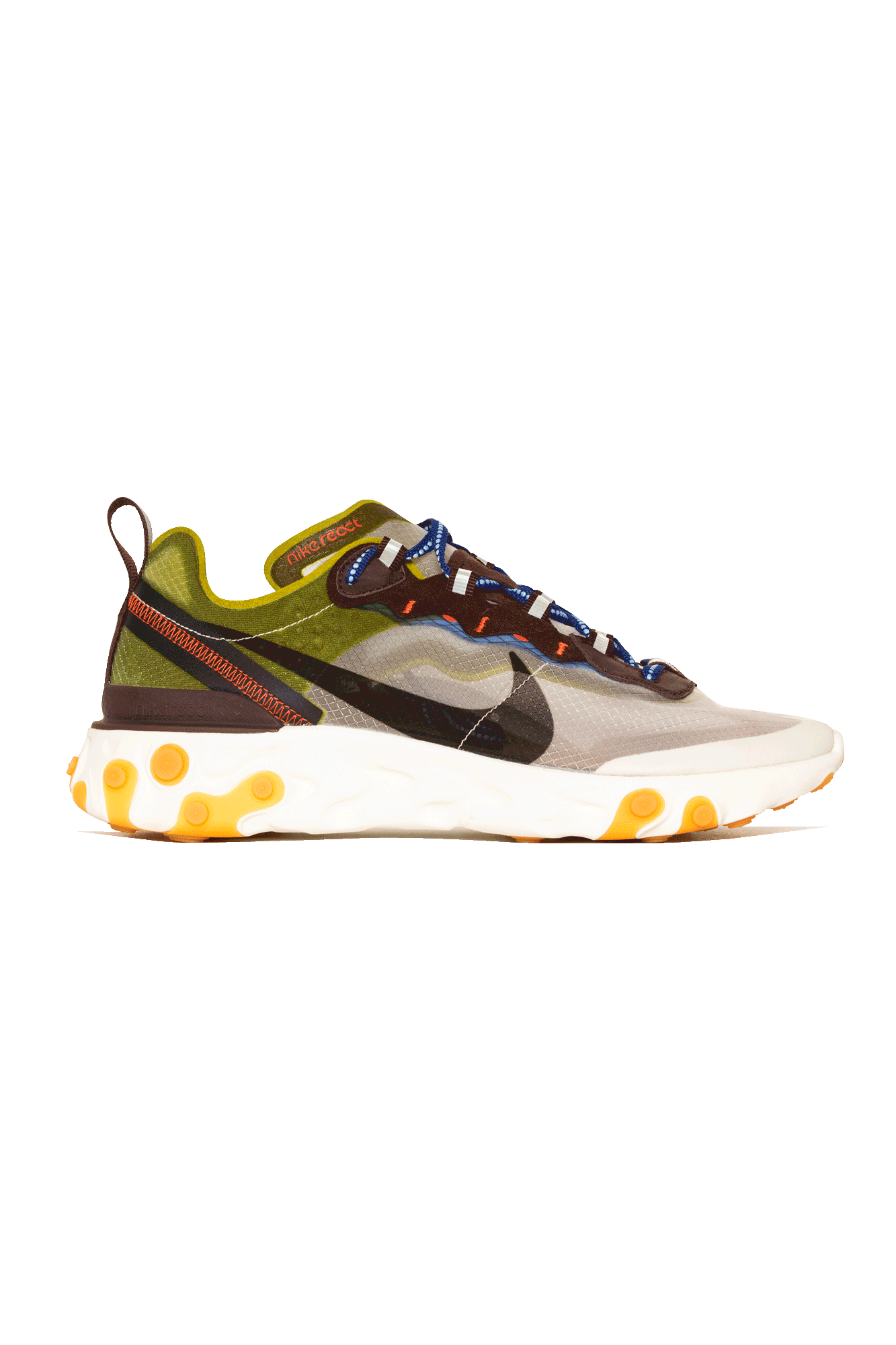 Sneakers Nike React Element 87 White - One Block Down