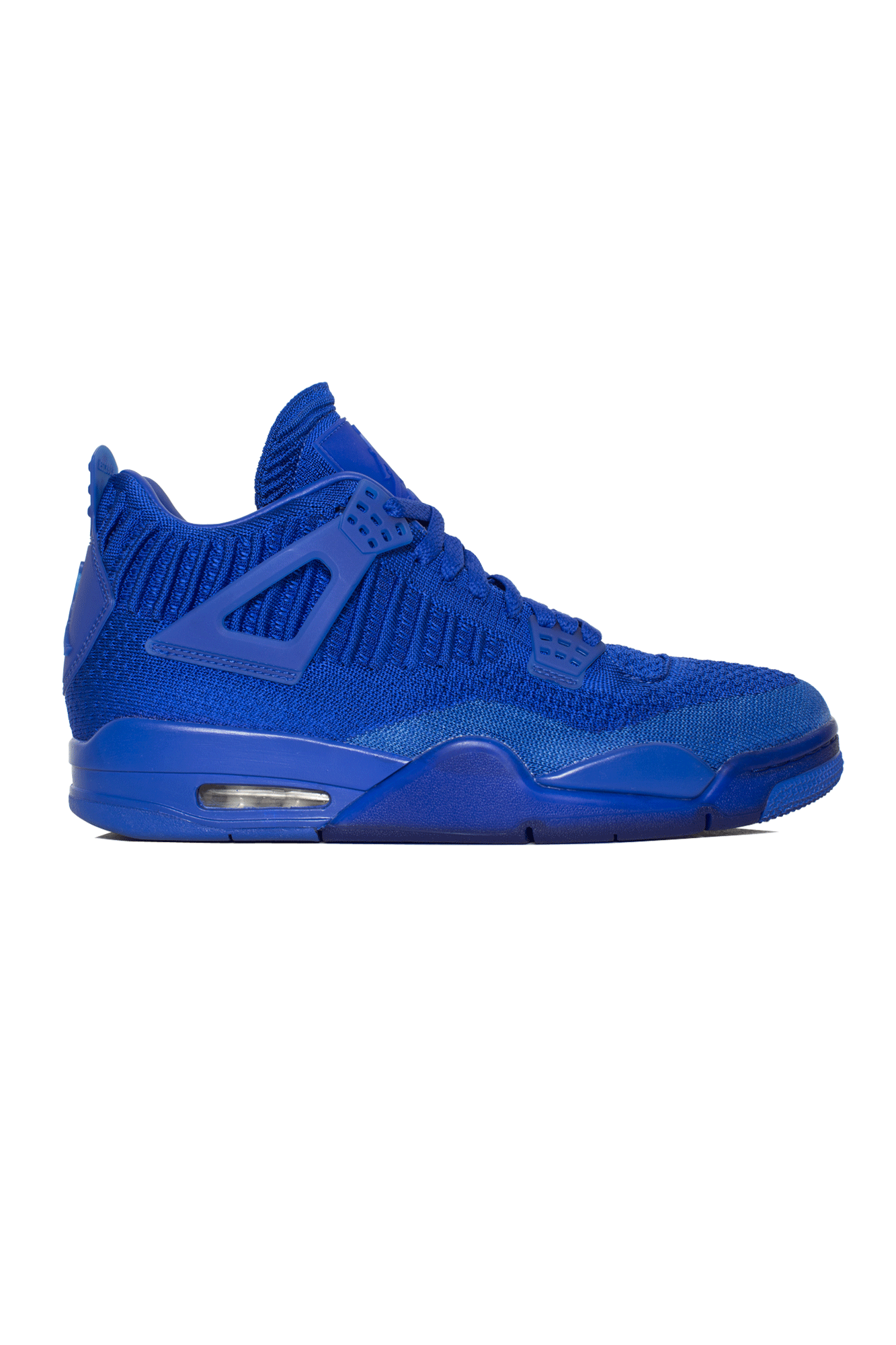 Air Jordan Sneakers Air Jordan 4 Retro Flyknit Blue AQ3559-#000#400#4,5 - One Block Down
