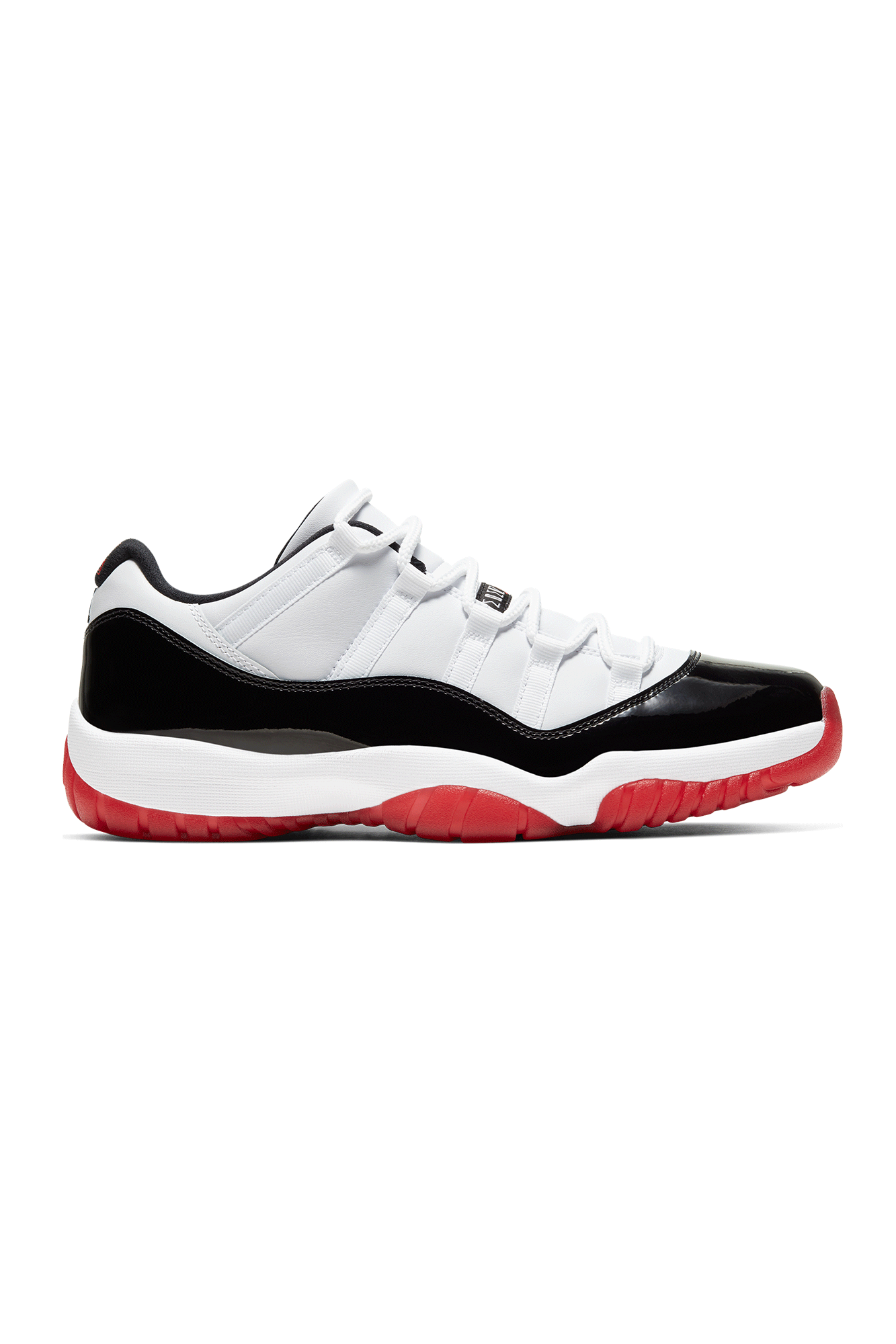 "11 Retro Low ""Concord Bred"" White"