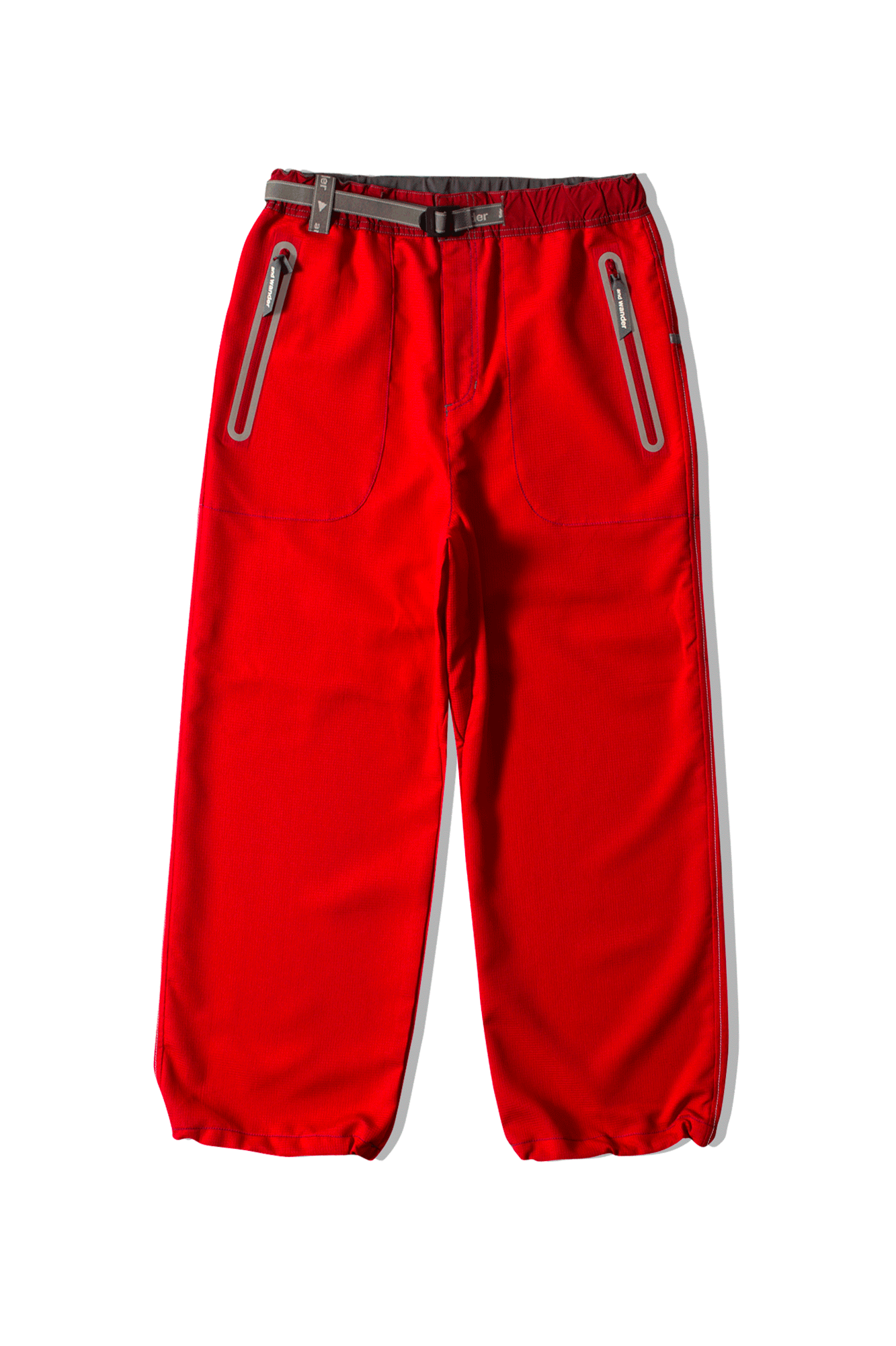 Vent Pants Red