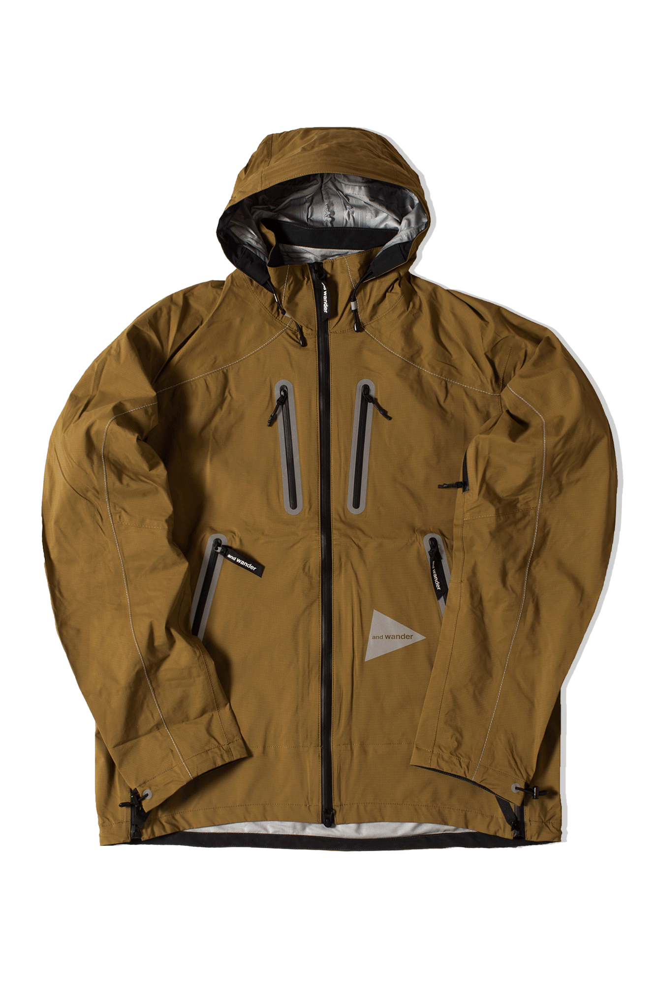 E Vent Jacket Brown