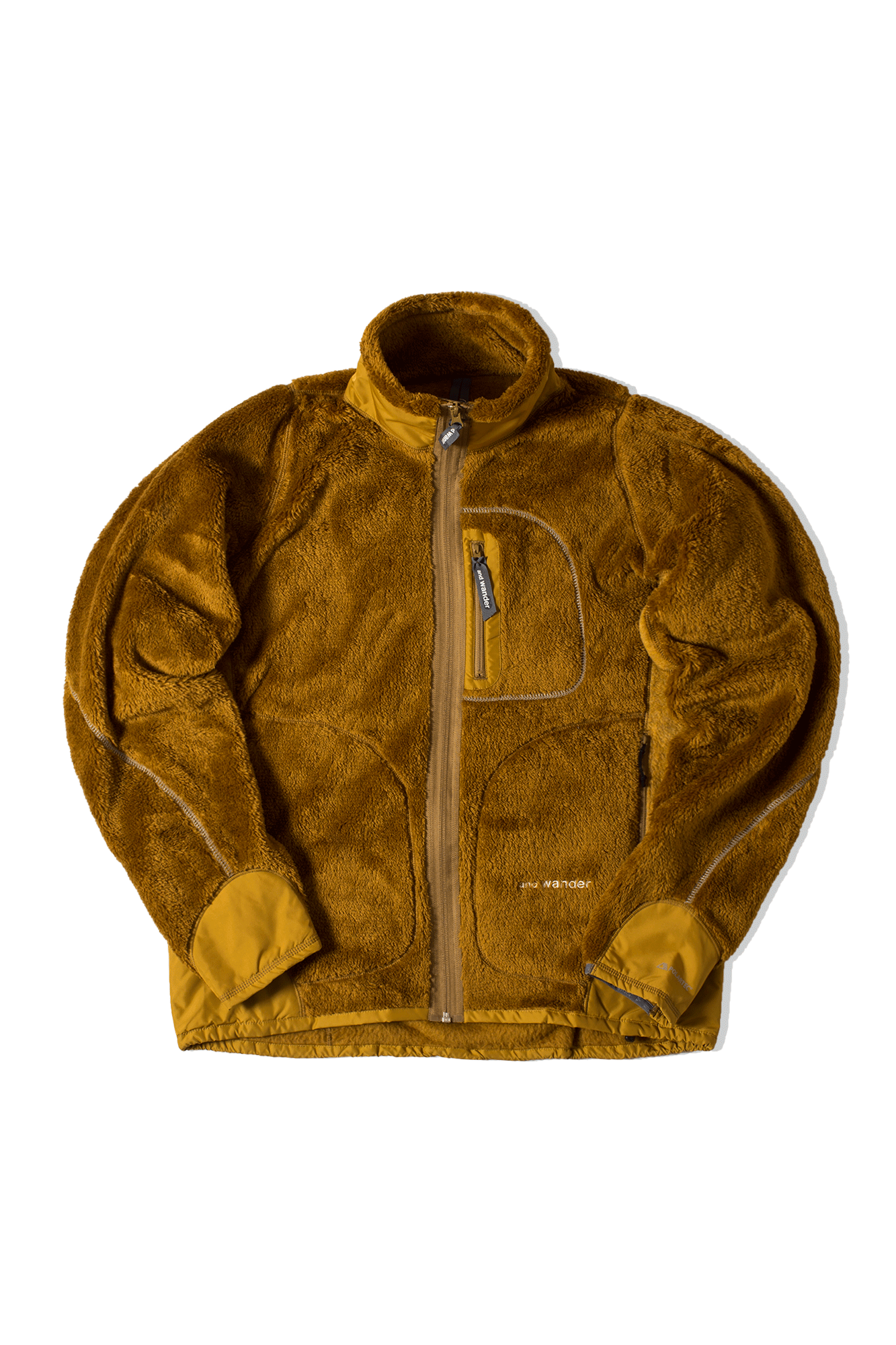 High Loft Fleece Jacket Yellow