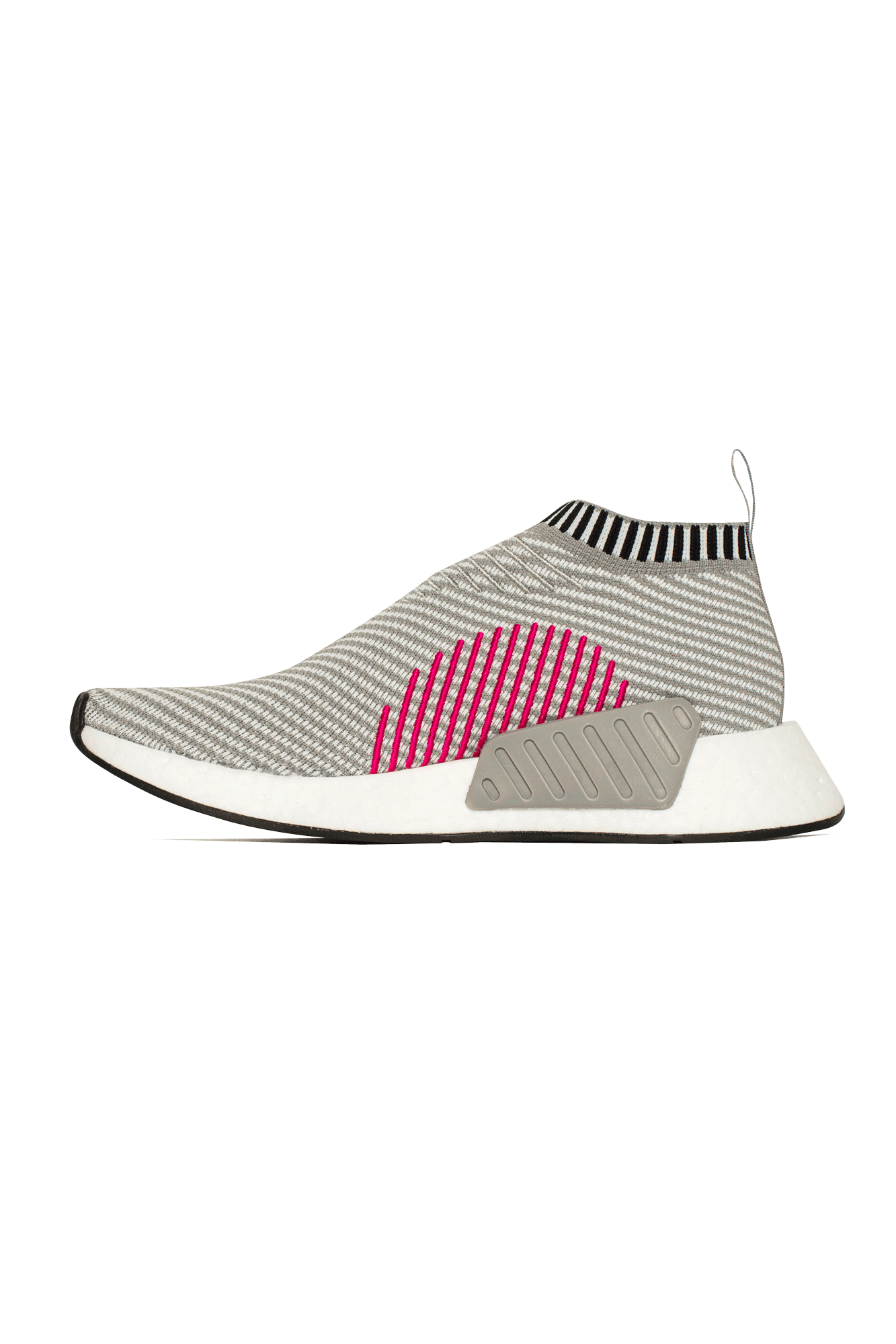 adidas Originals NMD CS2 PK City Sock Primeknit Boost (schwarz rot) (EU 47 13 US 12.5)