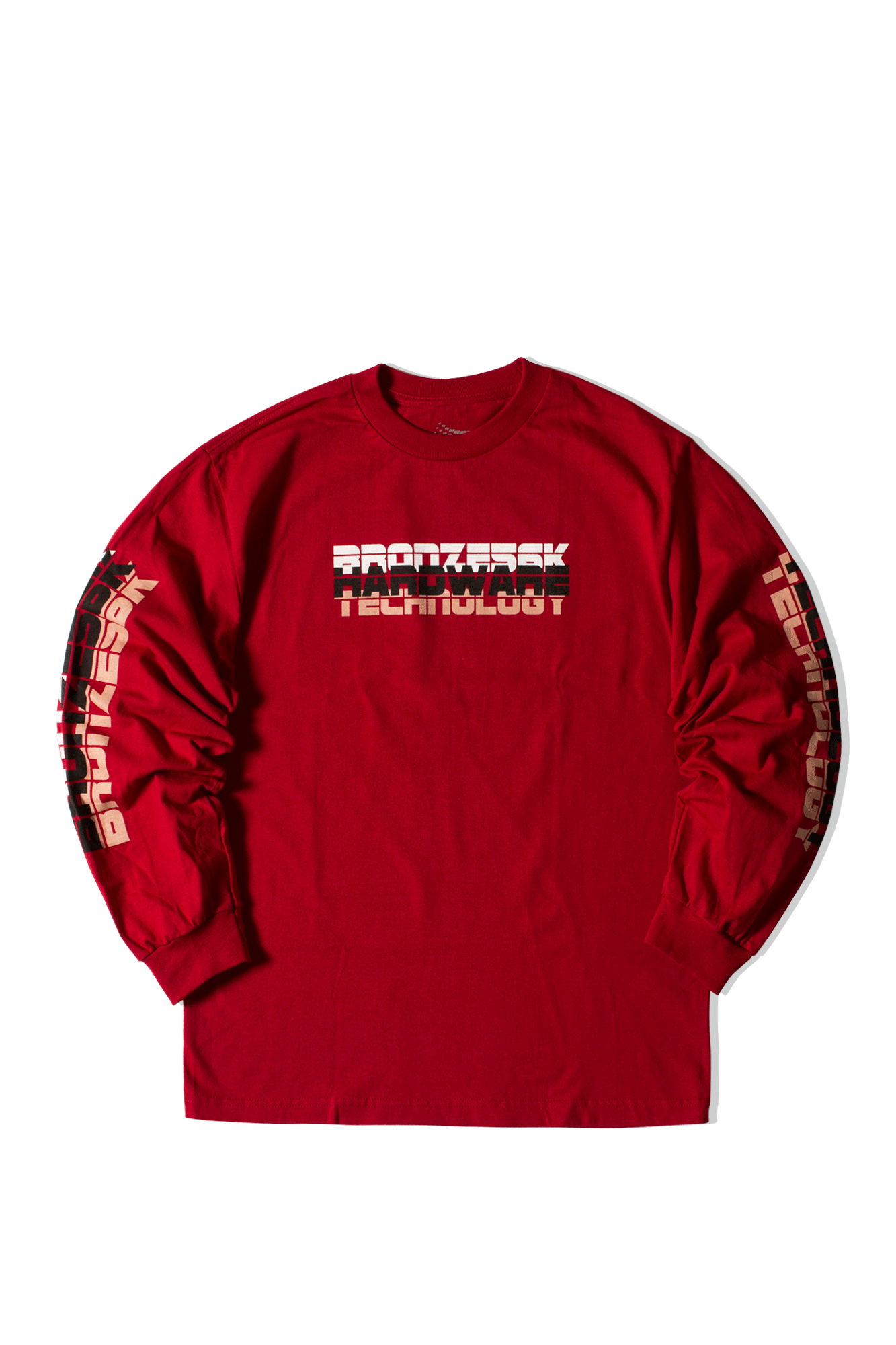 BHT Long Sleeve Tee Red