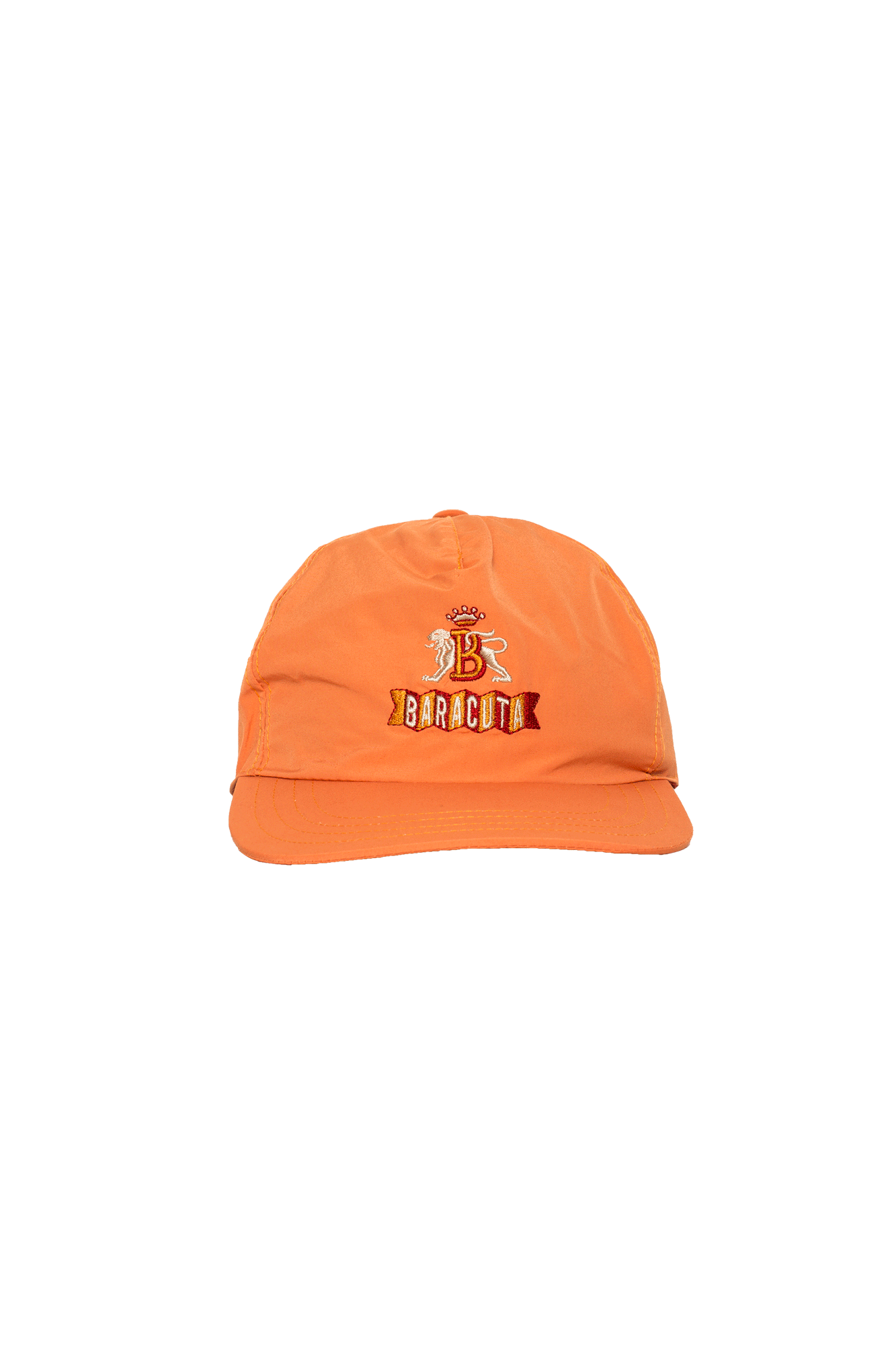 Baseball Hat Baracuta Cloth Orange