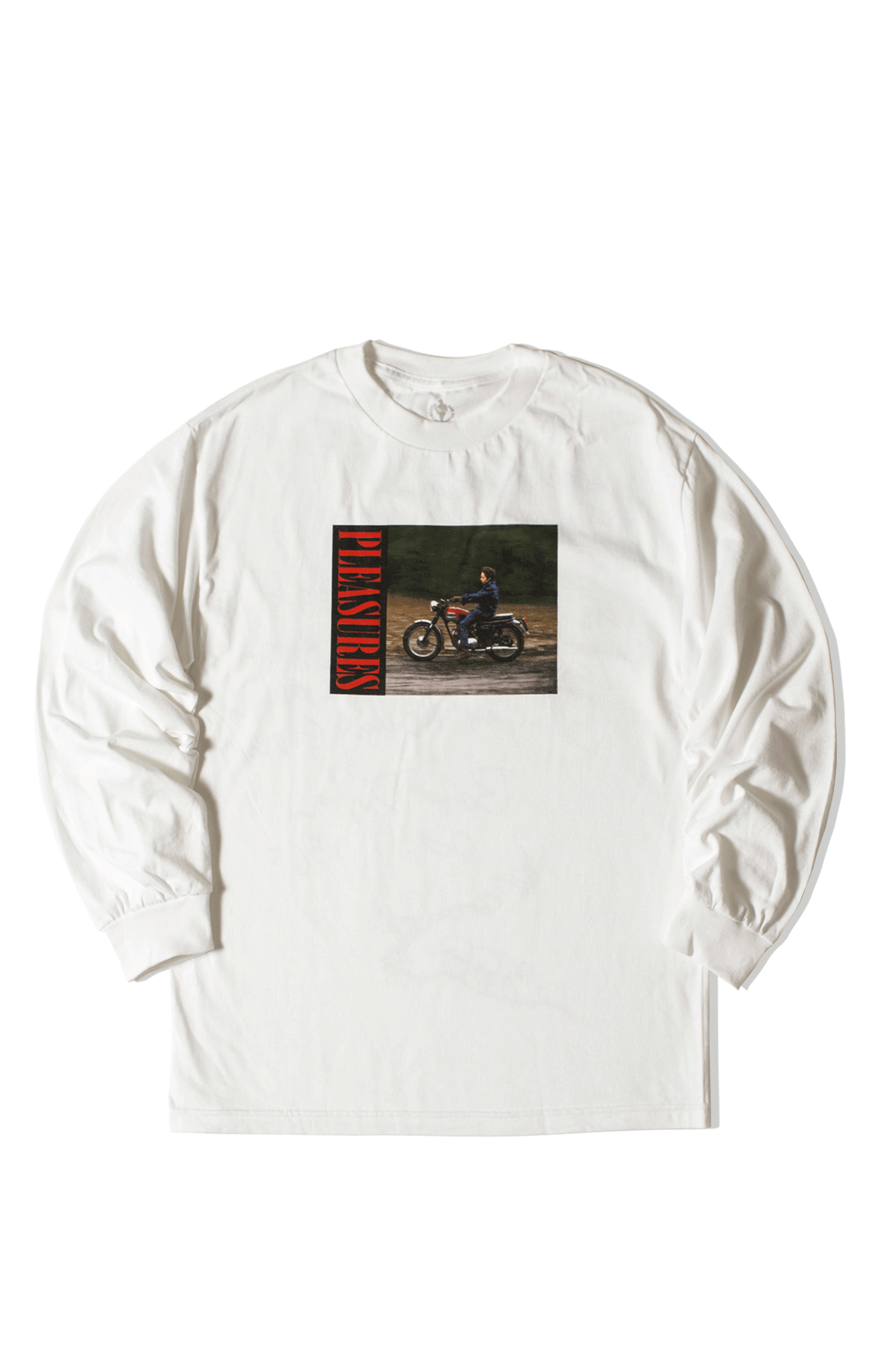 Bob Dylan Ride Long Sleeve T-Shirt White