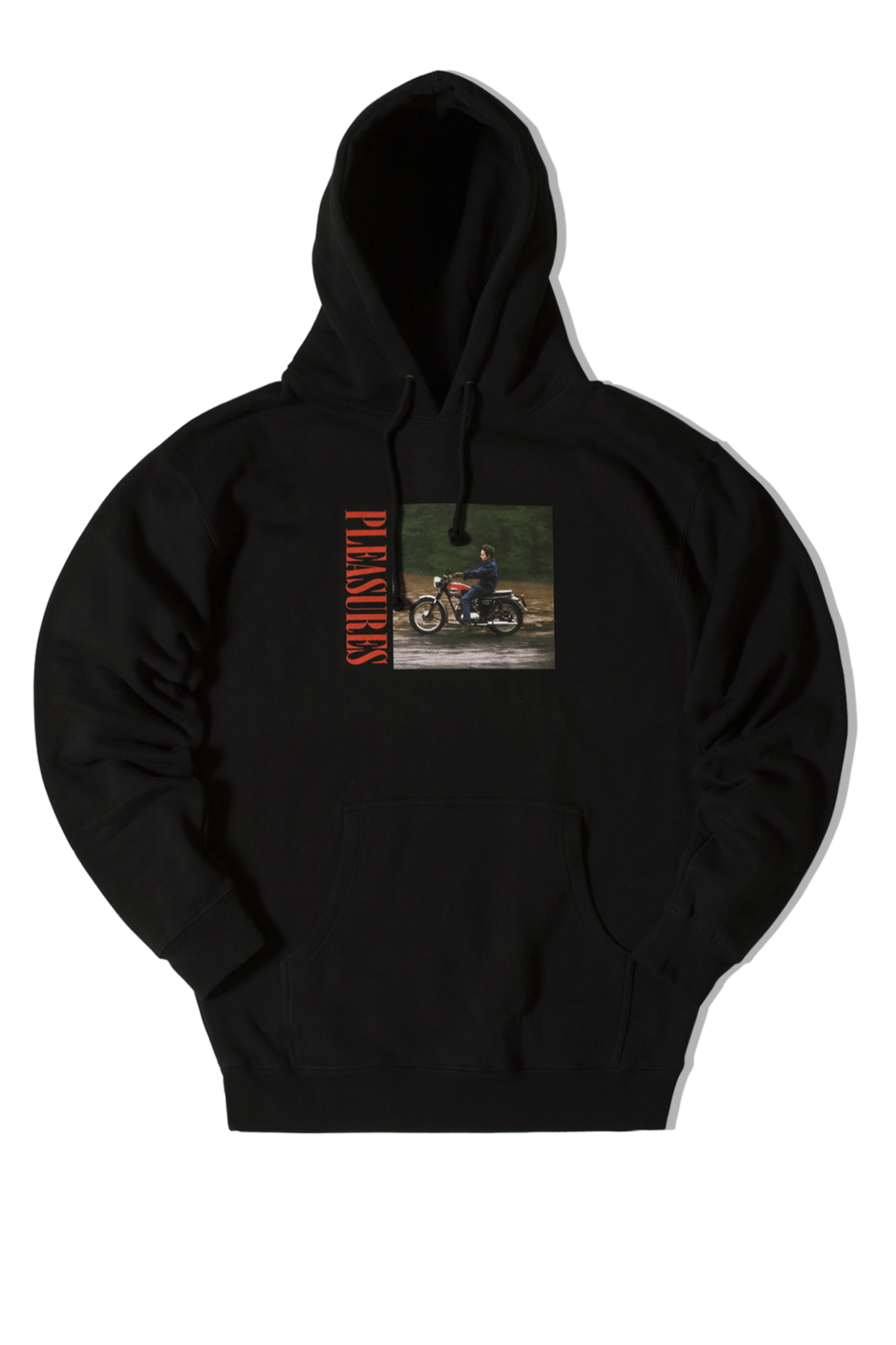 Bob Dylan Ride Hoody Black