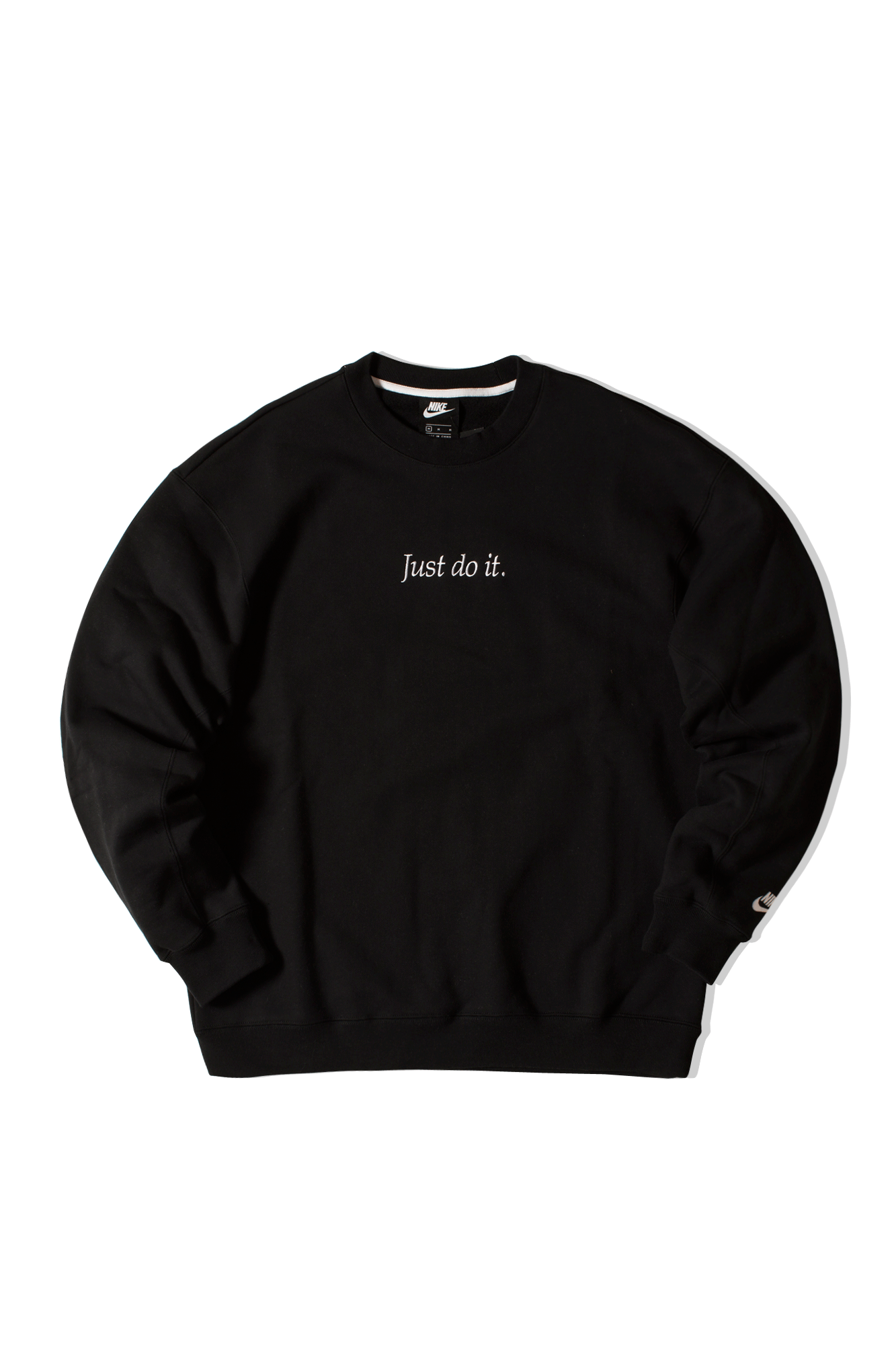 Just Do It Crewneck Black