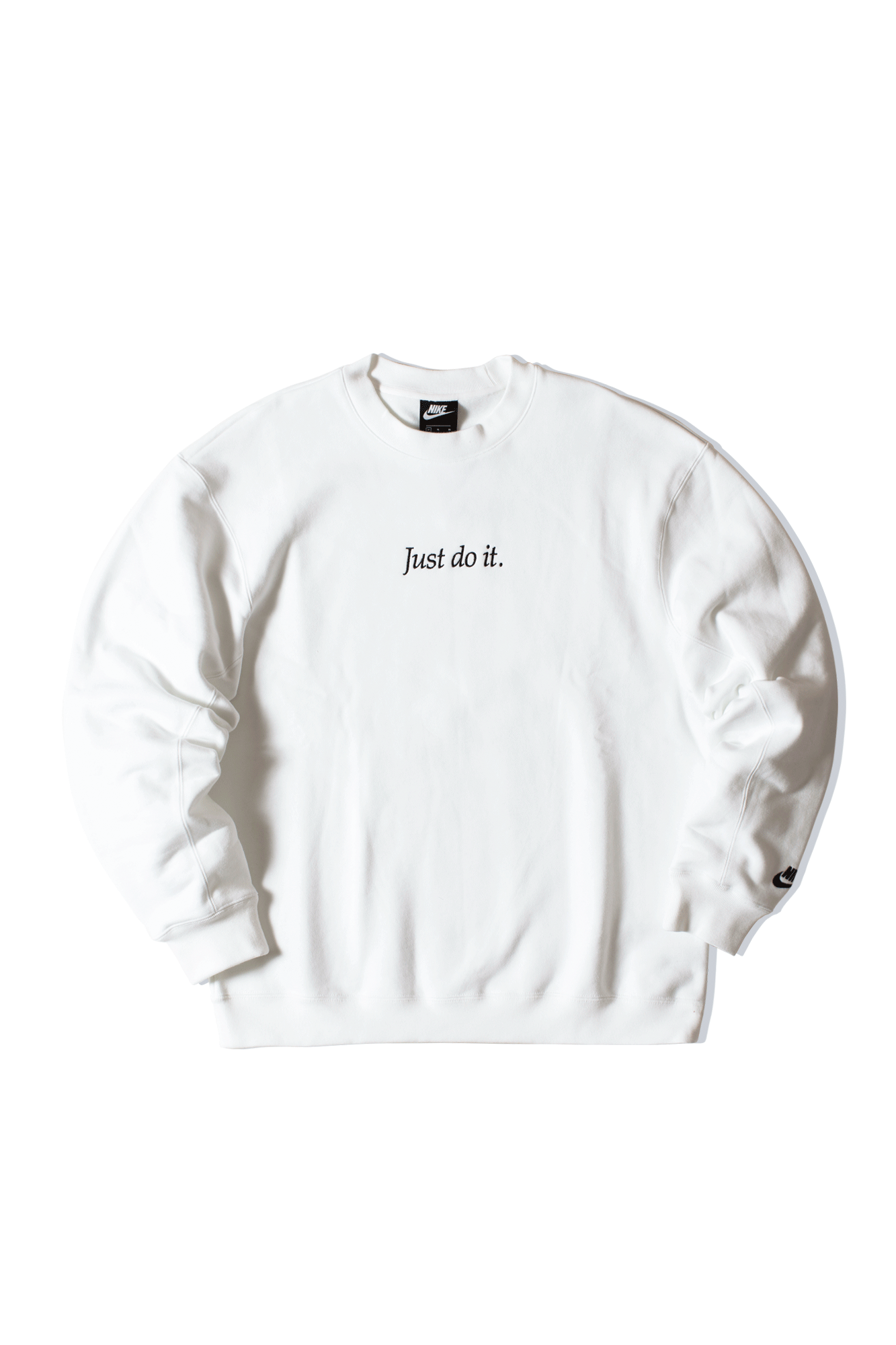 Just Do It Crewneck White
