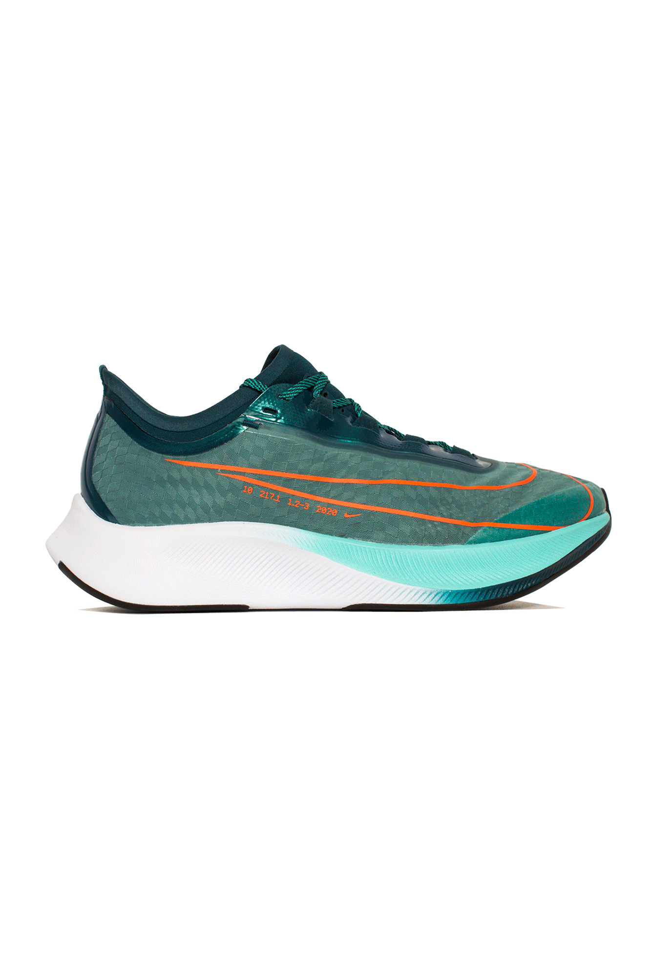Zoom Fly 3 Prm Hkne Green