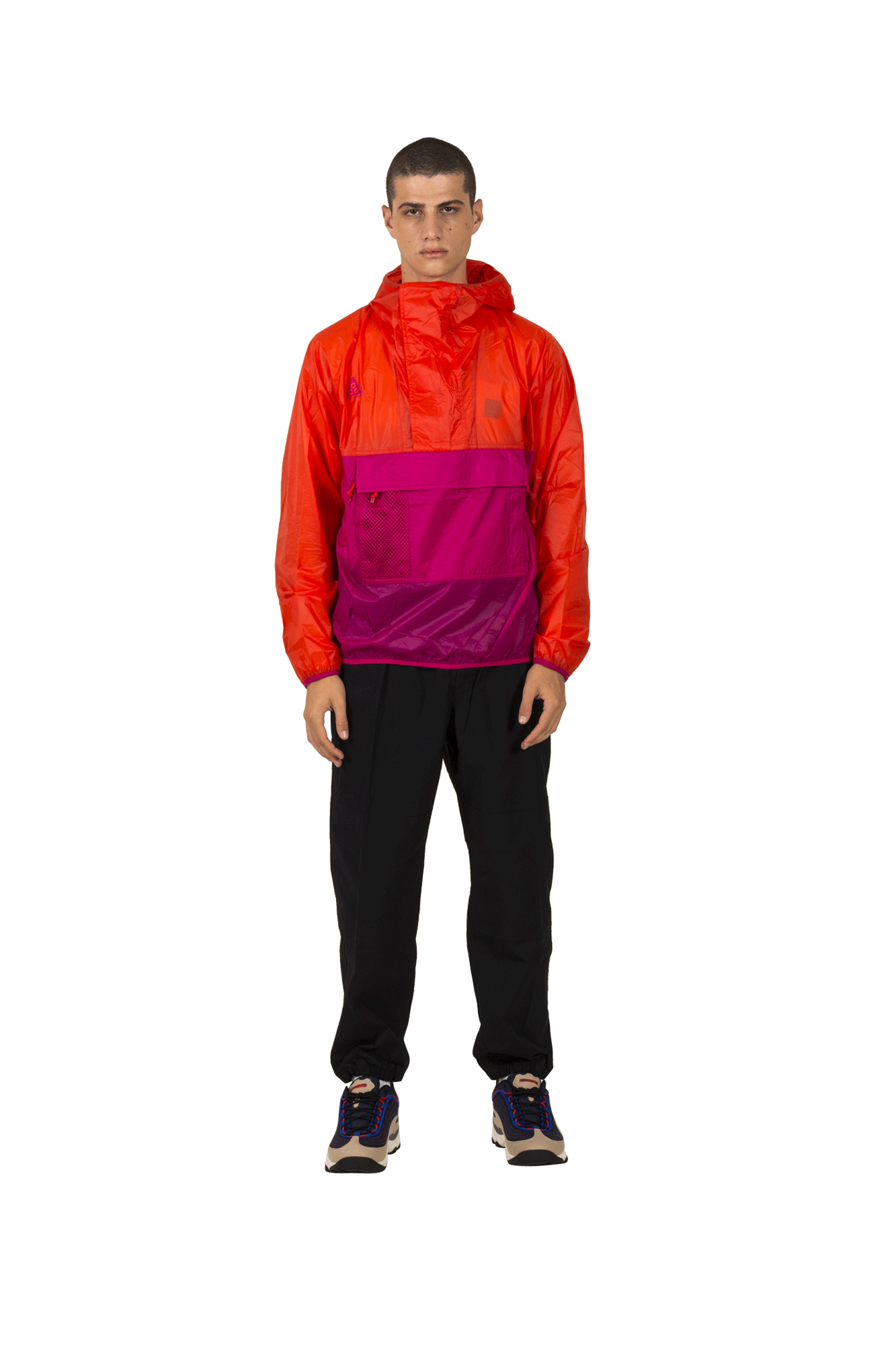 M NRG ACG ANORAK HD Red