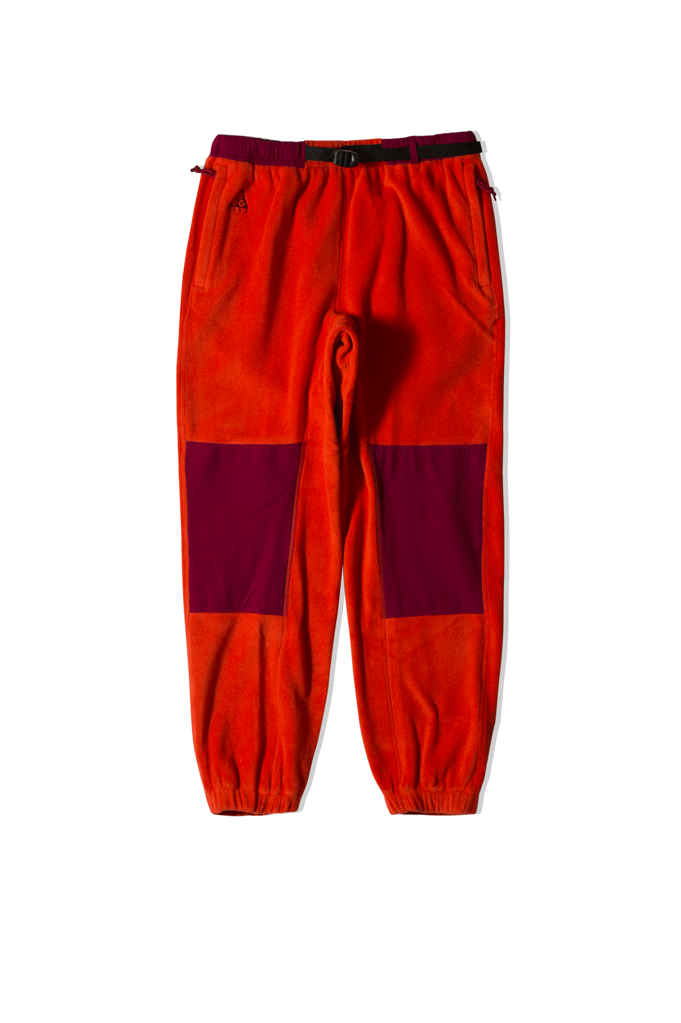 W NRG ACG Microfleece Trail Pant Red
