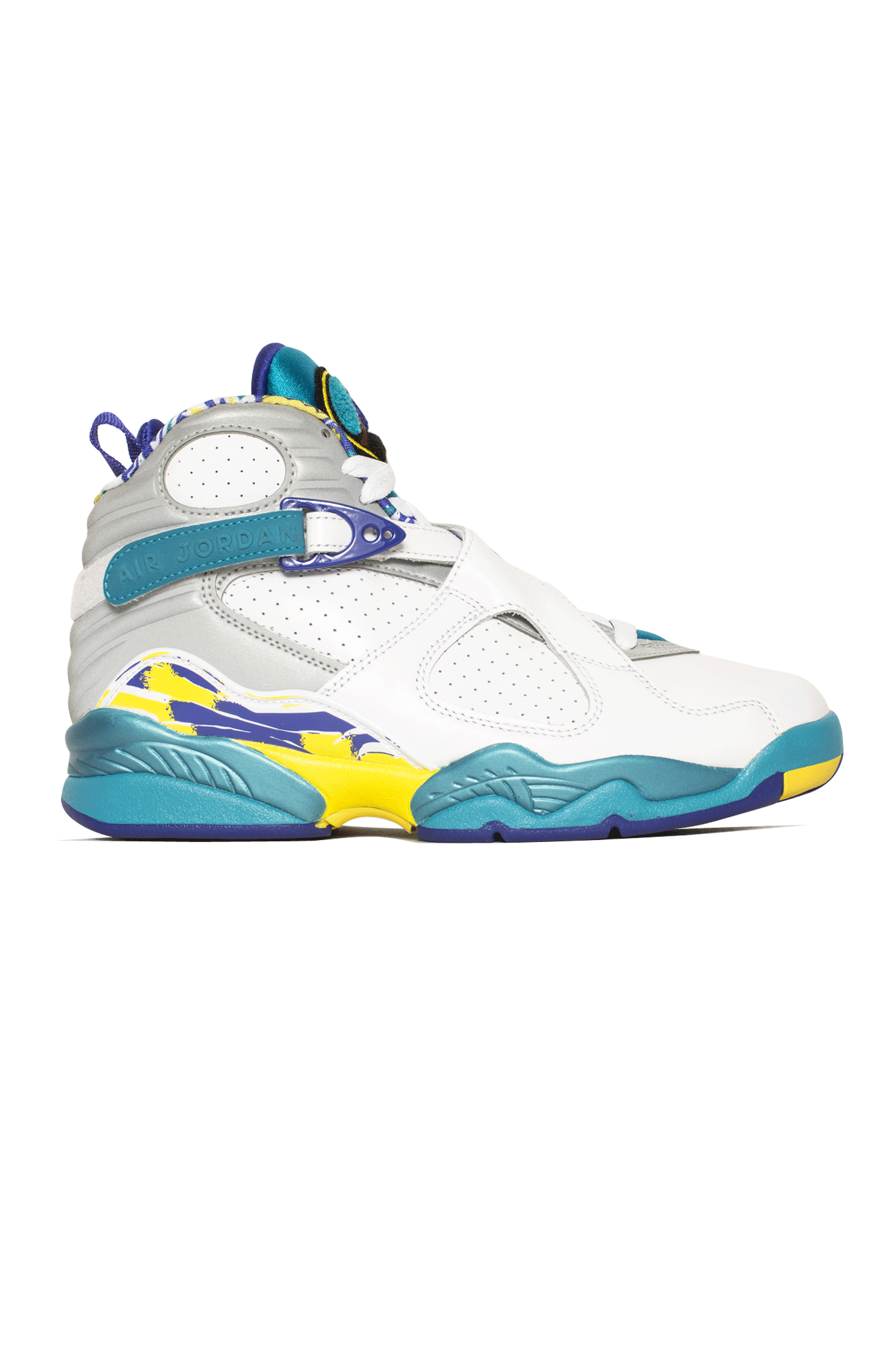 Sneakers Air Jordan Wmns Air Jordan 8 Retro White - One Block Down