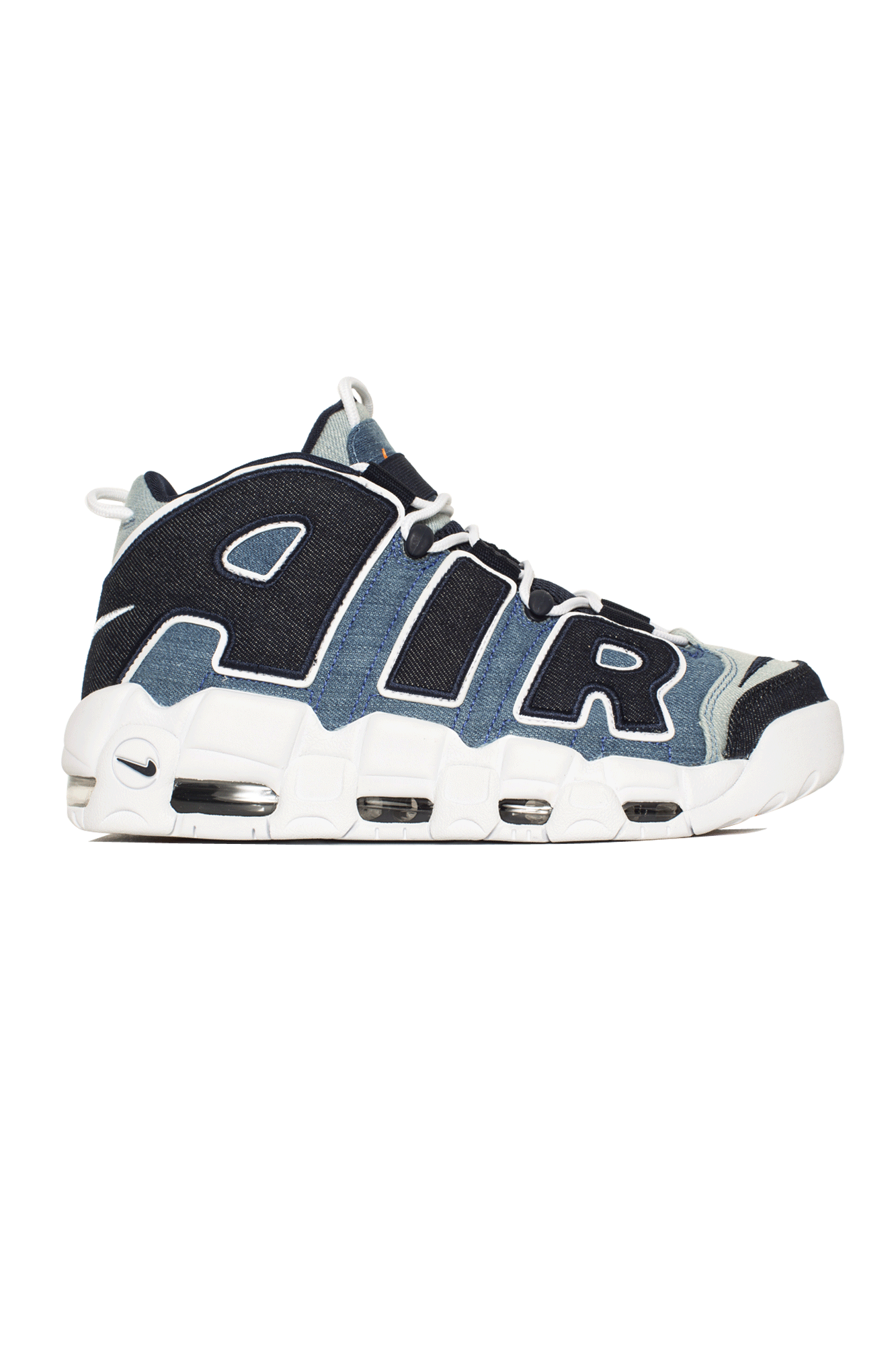Nike Sneakers AIR MORE UPTEMPO '96 QS White CJ6125-#000#100#6 - One Block Down