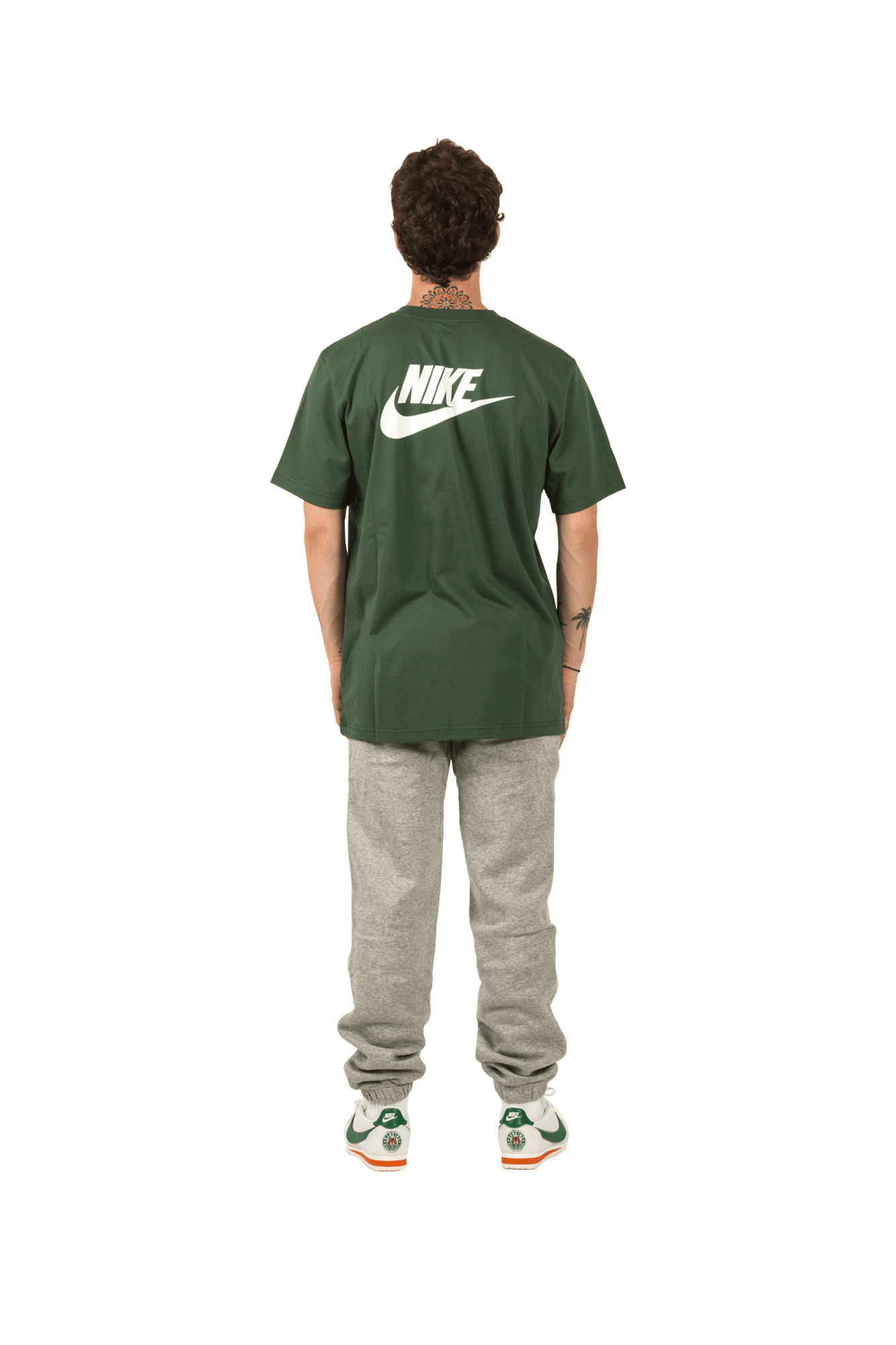 Nike T-Shirts M NRG SS Tee X Stranger Things Green CK2342#000#323#XS - One Block Down
