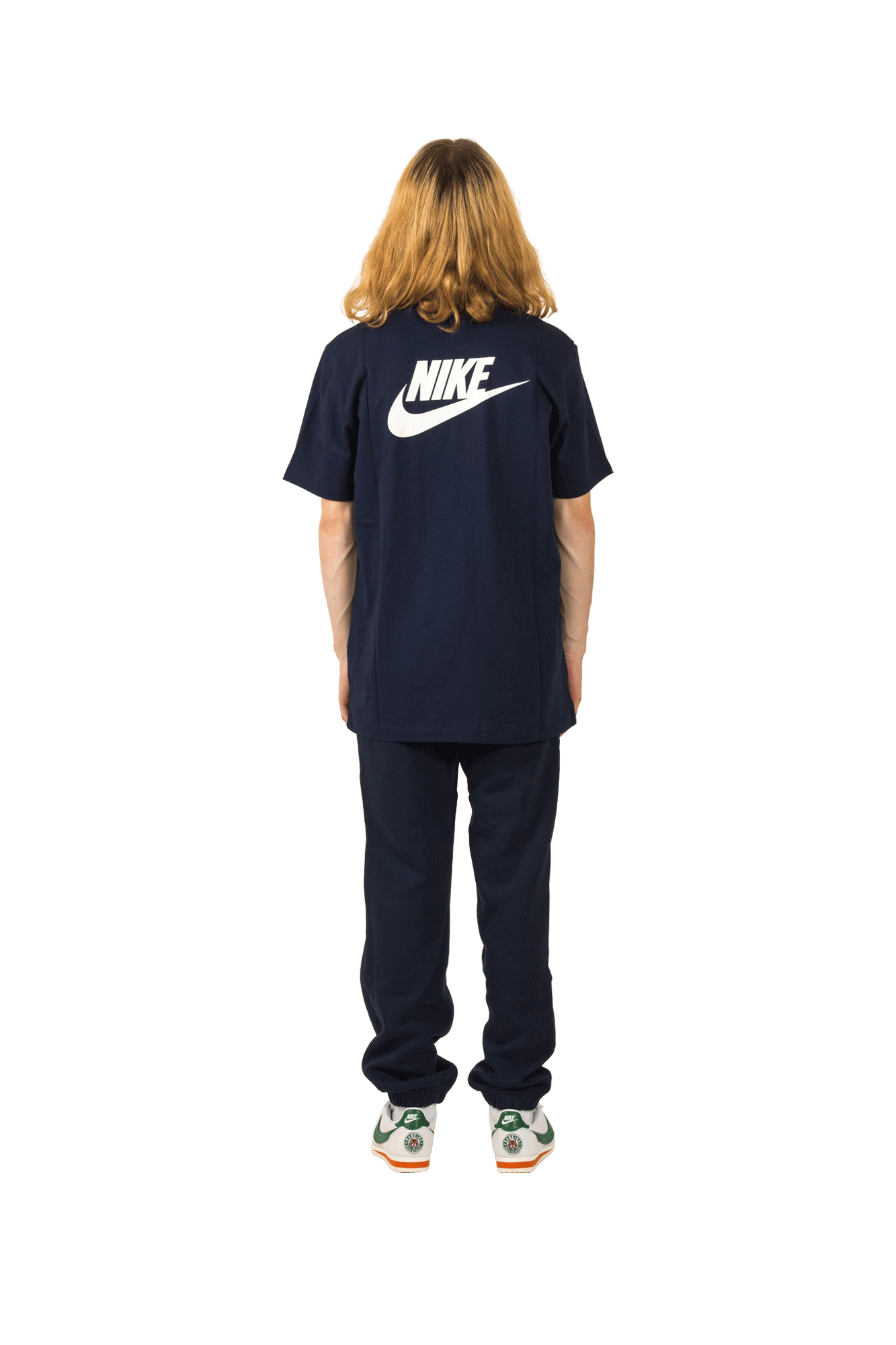 Nike T-Shirts M NRG SS Tee X Stranger Things Blue CK2342#000#419#XS - One Block Down