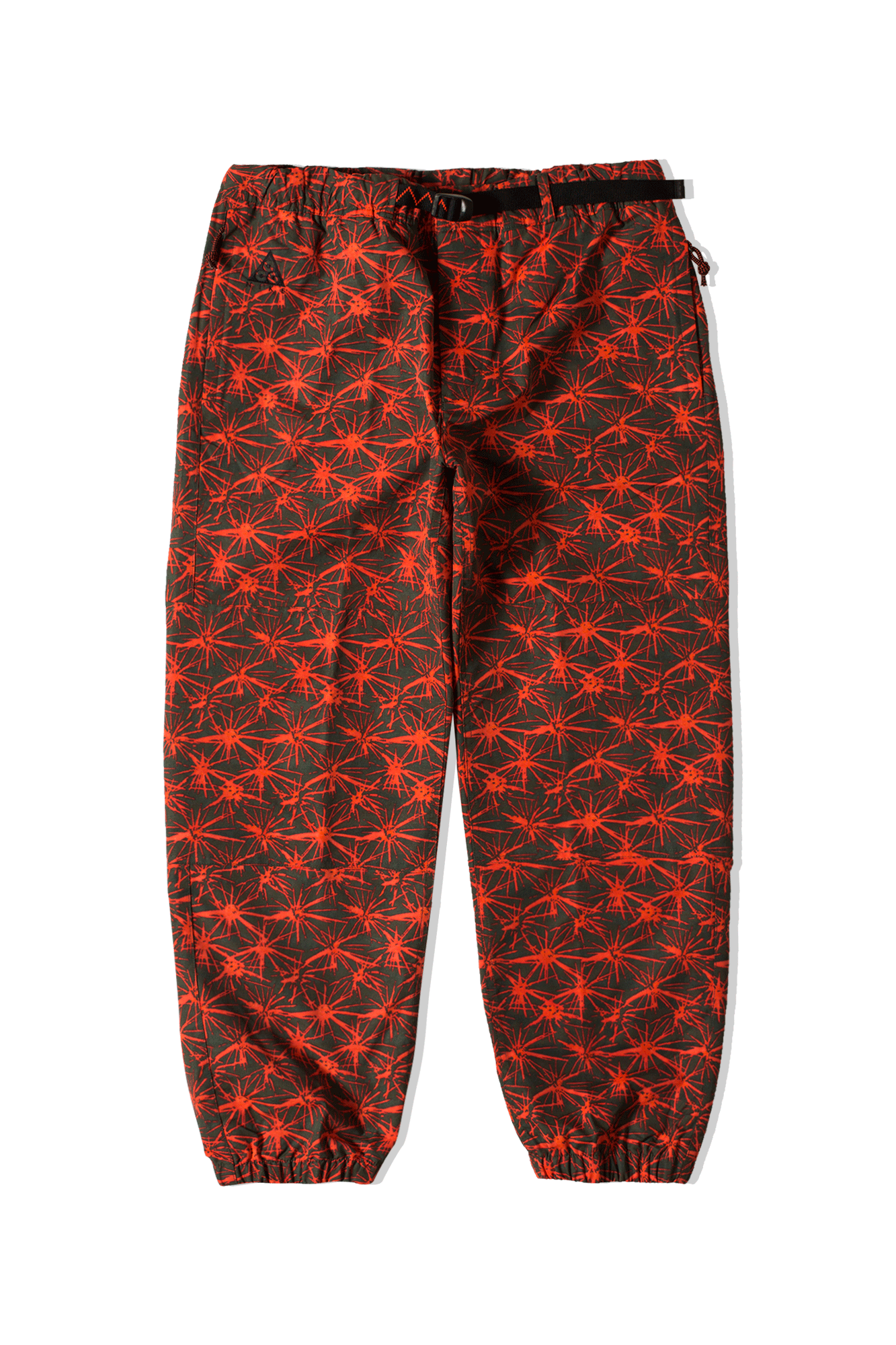 M NRG ACG AOP Trail Pant Red