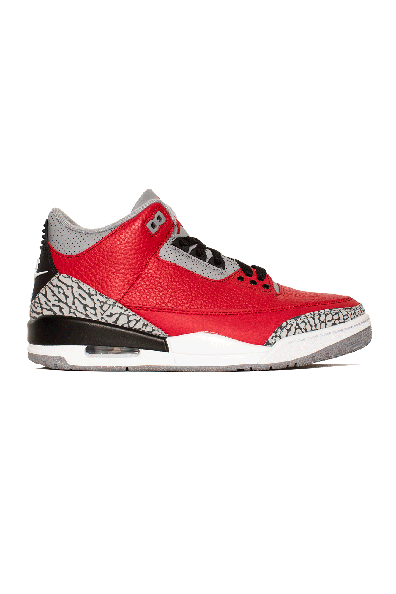 "3 Retro SE ""Red Cement"" Red"