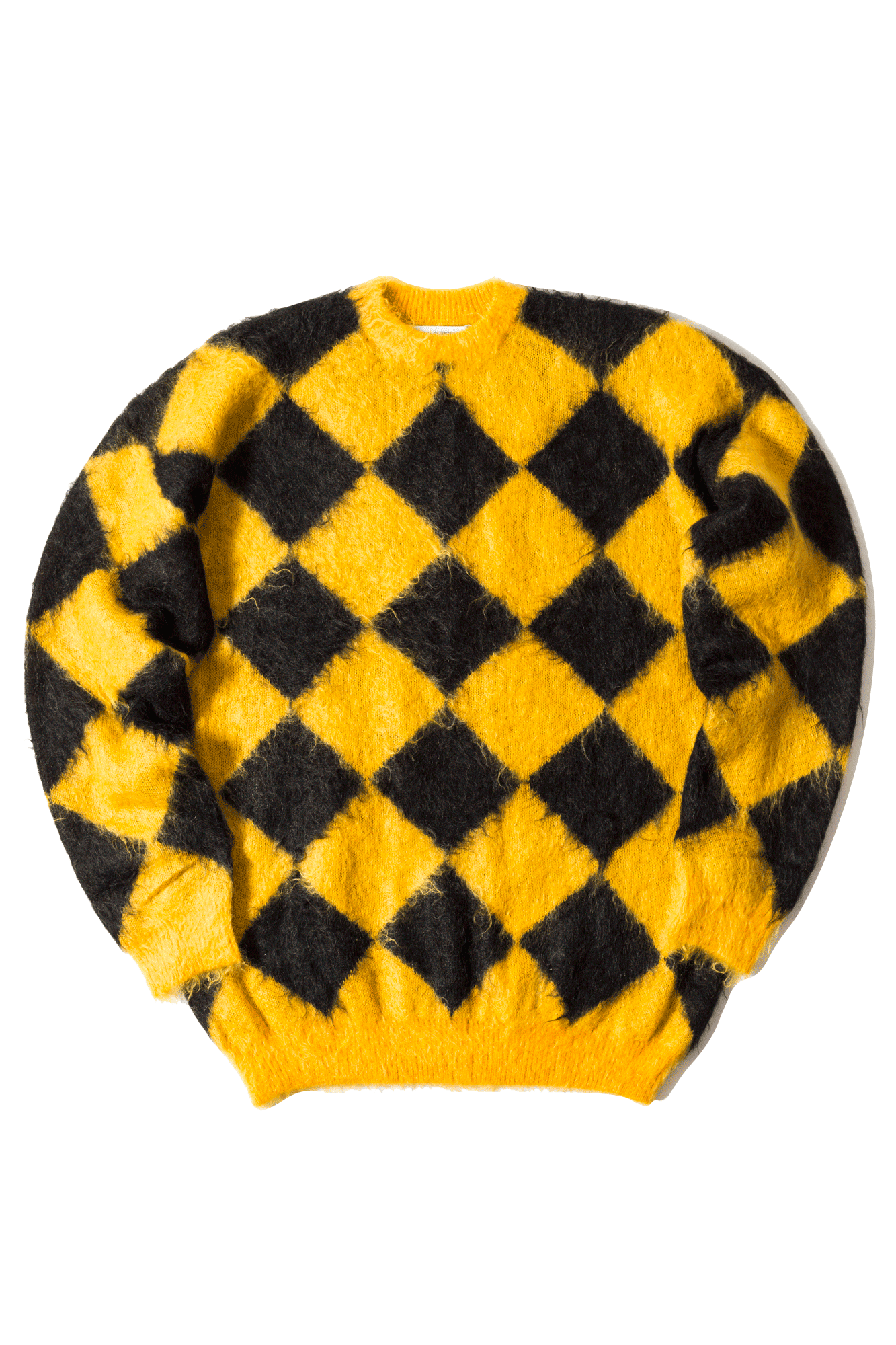 Children Of The Discordance Knitwear Mohair Sweater Yellow COTDKN#610#YELLOW#0 - One Block Down