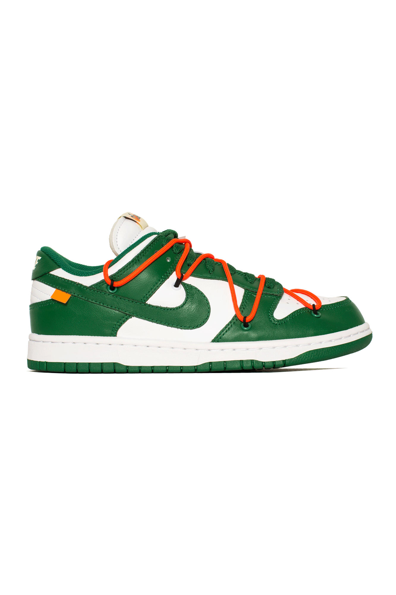 "Dunk Low LTHR x Off-White ""Pine Green"""
