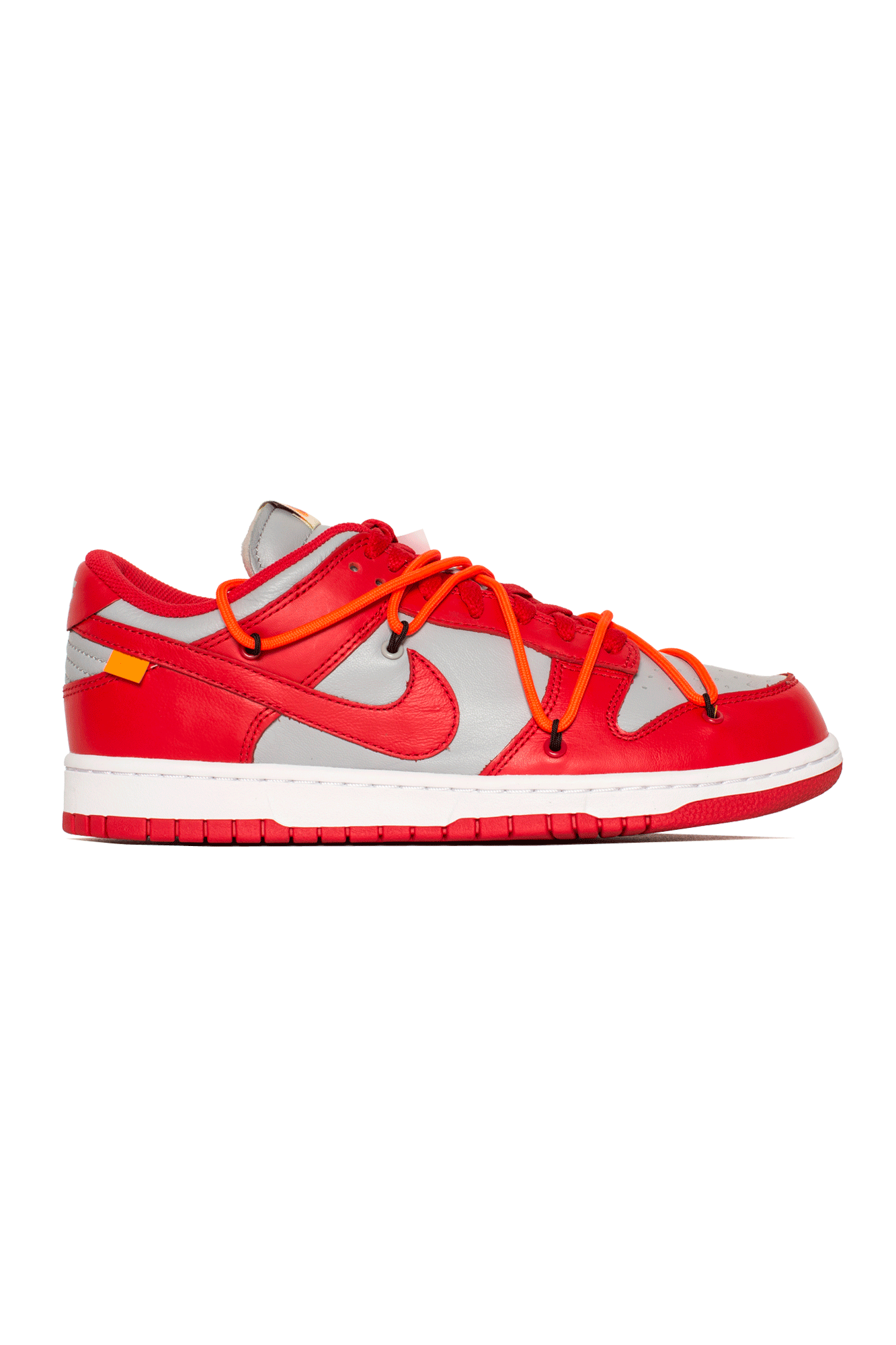 "Dunk Low LTHR x Off-White ""University Red"""
