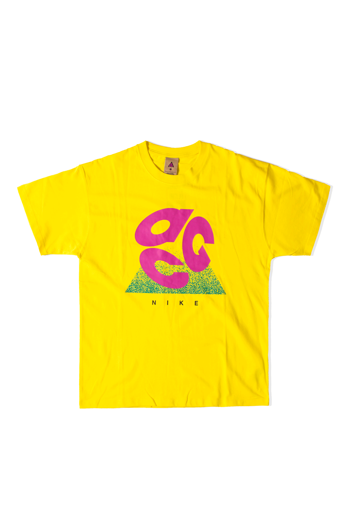 M NRG ACG Short Sleeve Tee Logo Evo Yellow