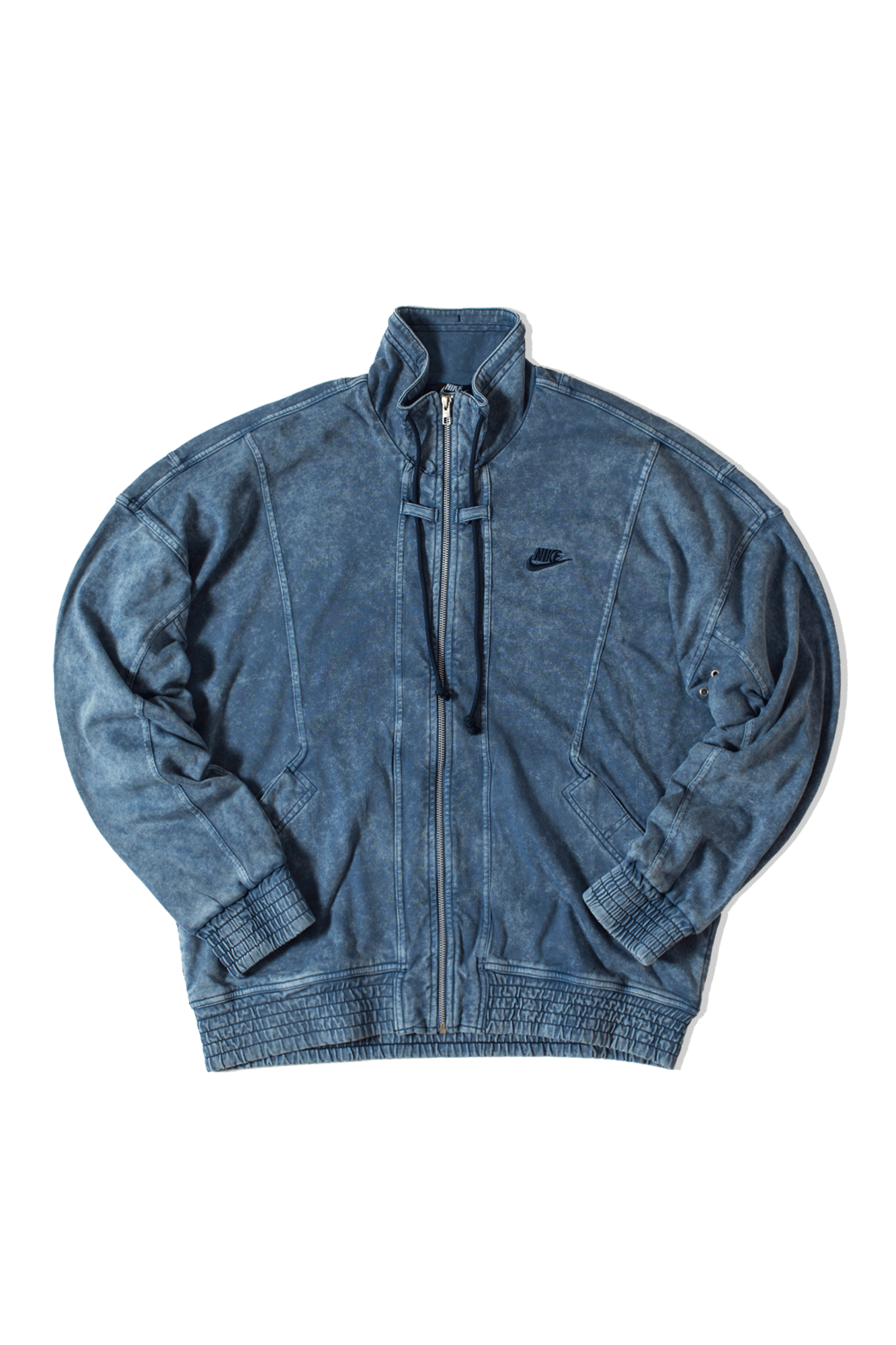 M Nsw Re-Issue Jacket Knit Wash Blue