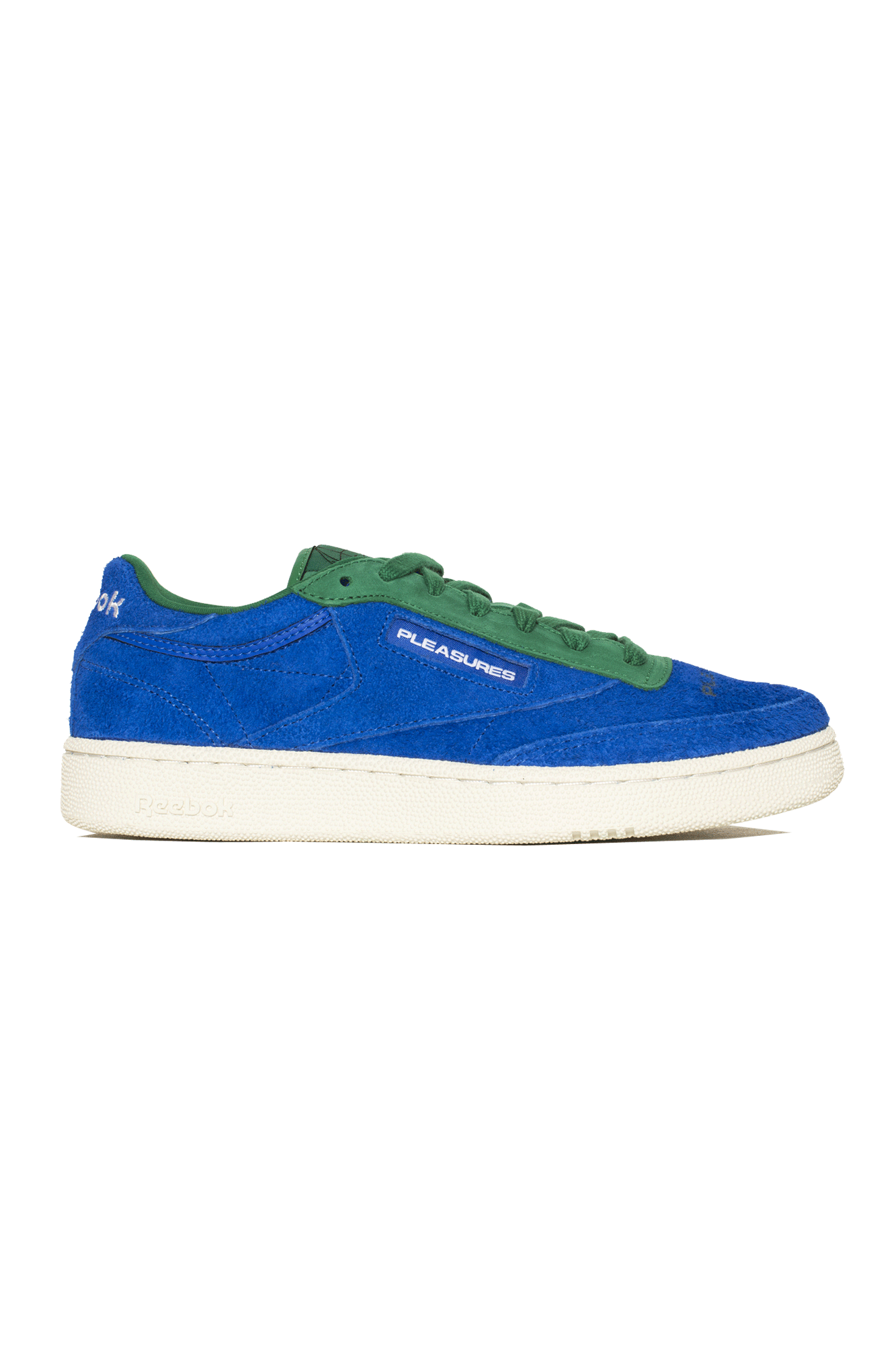 Pleasures X Reebok CLUB C Shoe Blue