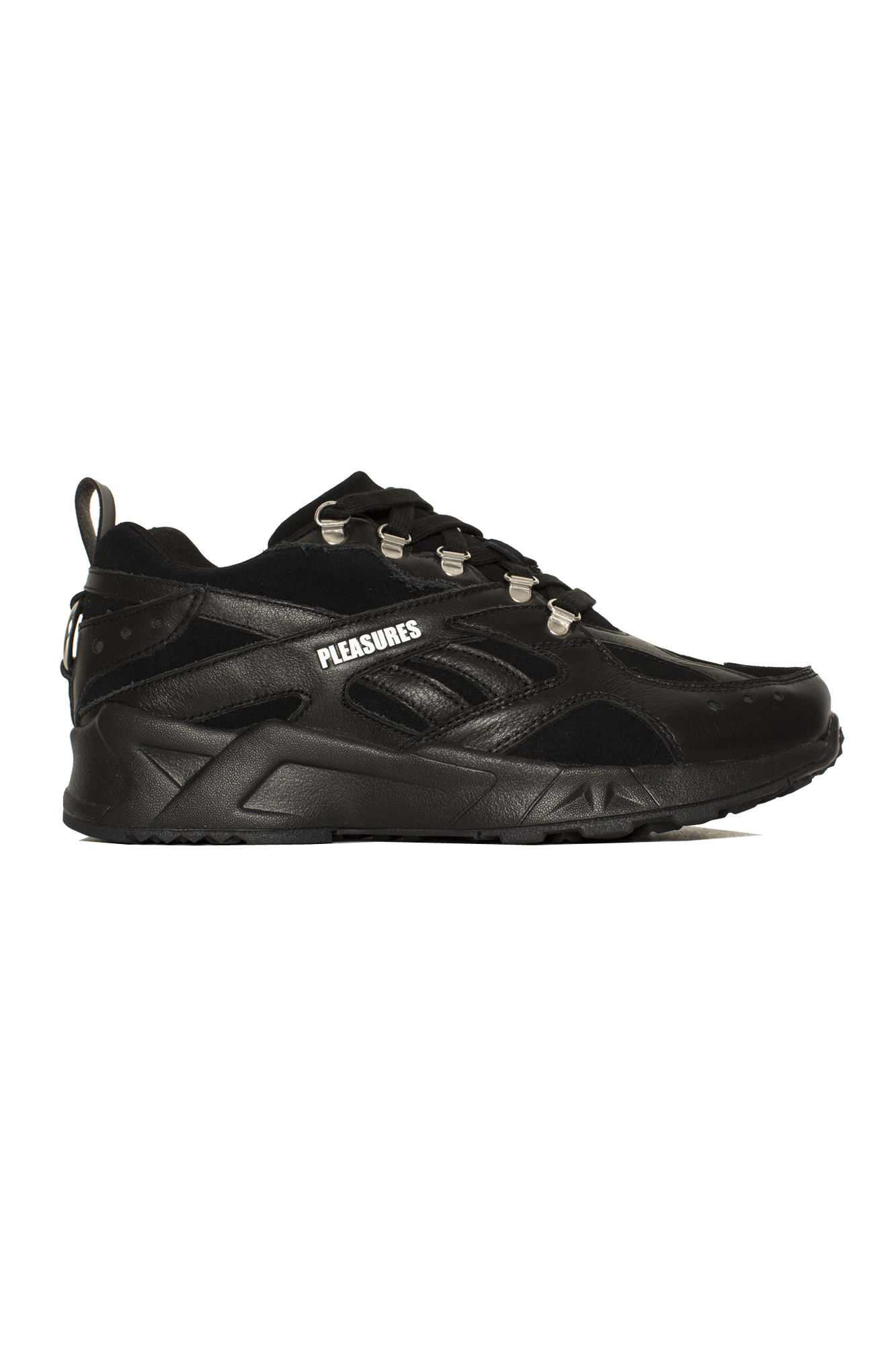 Pleasures X Reebok Aztrek Shoe Black