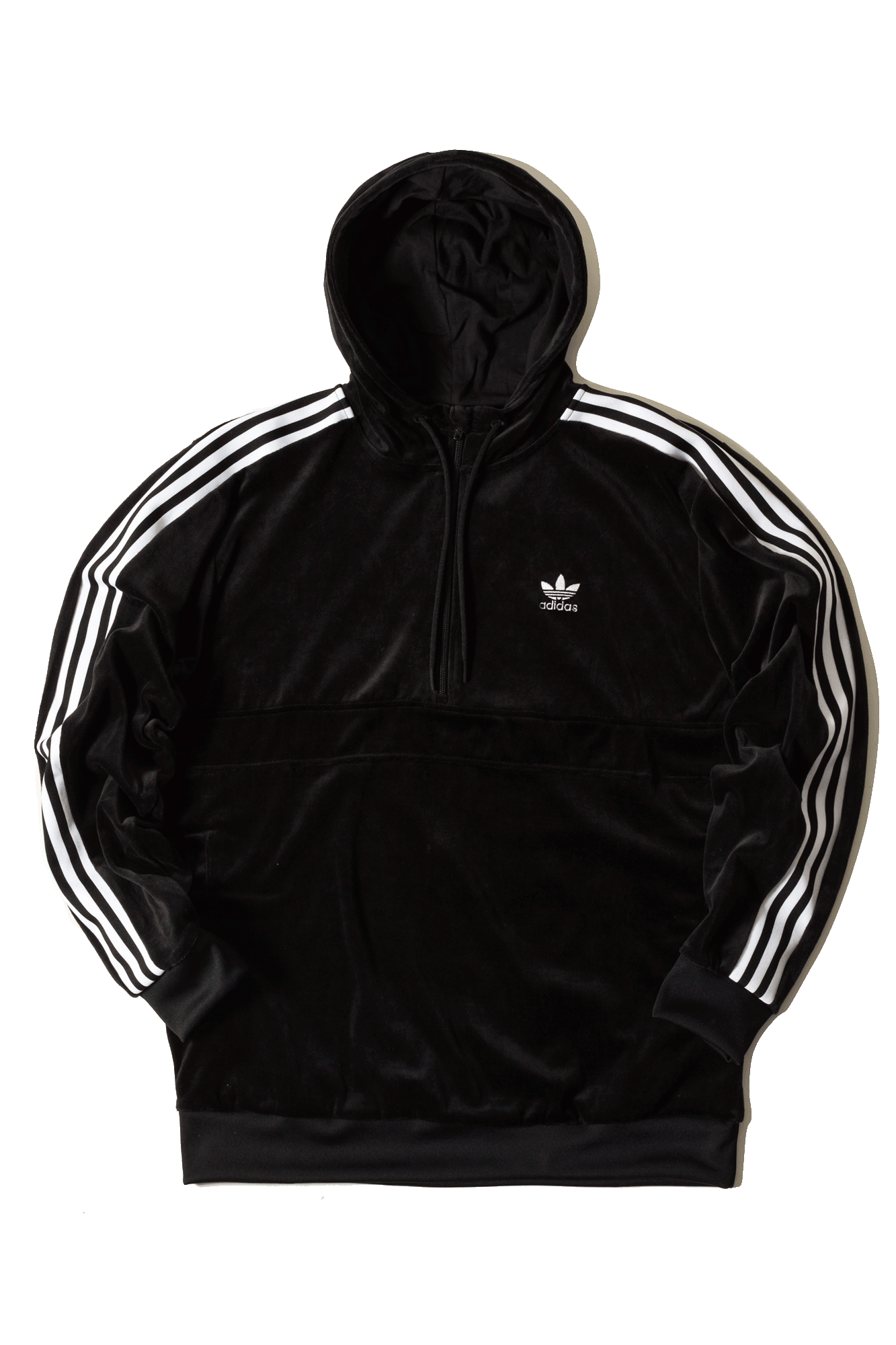 Adidas Originals Sweaters Cozy Halfzip Black DX3625#000#C0010#XS - One Block Down