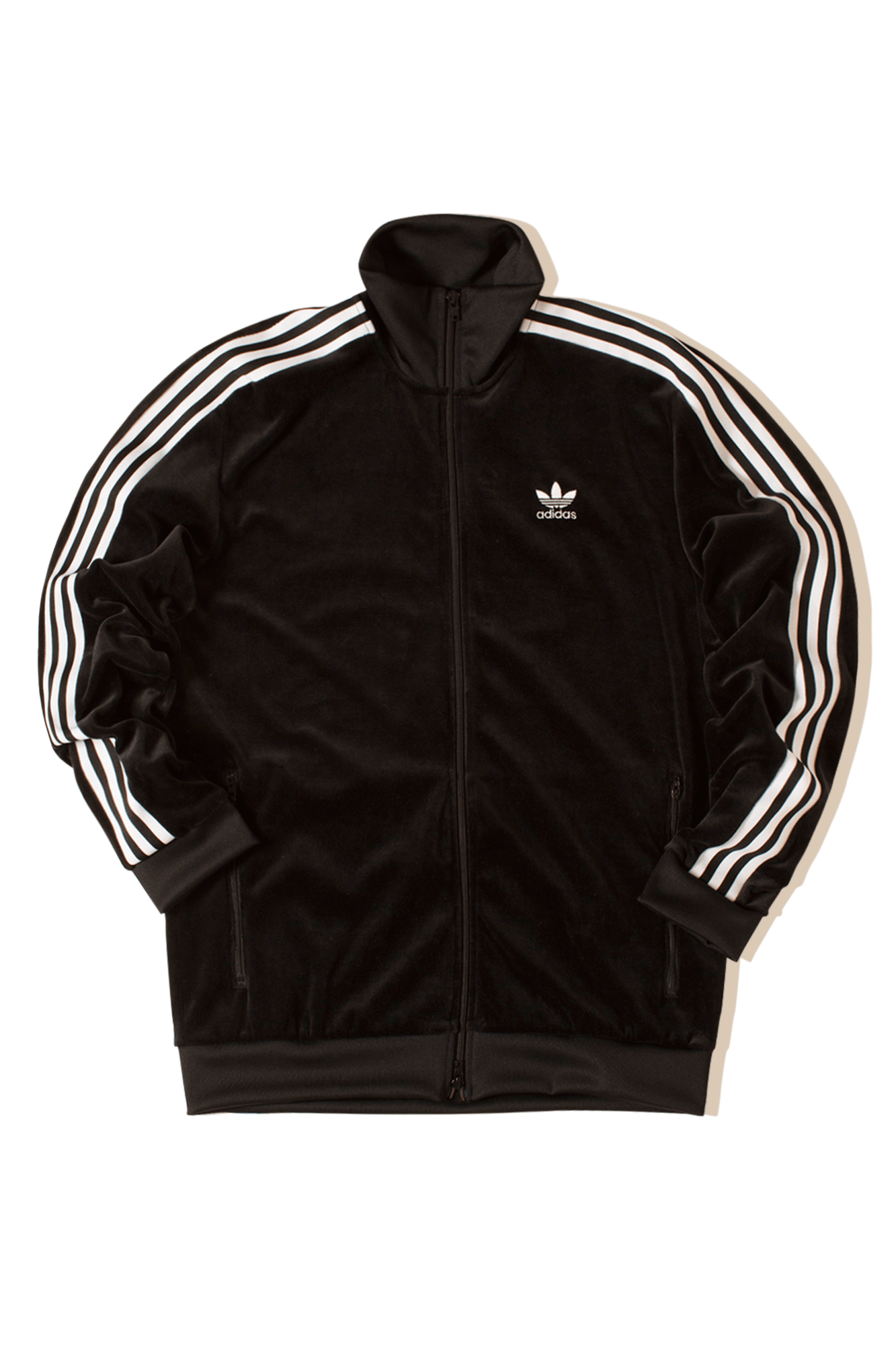 Adidas Originals Sweaters Cozy Tracktop Black DX3626#000#C0010#XS - One Block Down