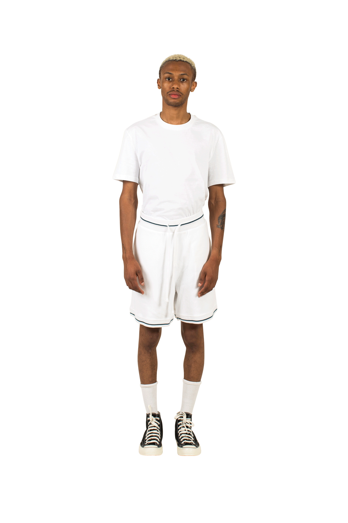Playground Shorts White