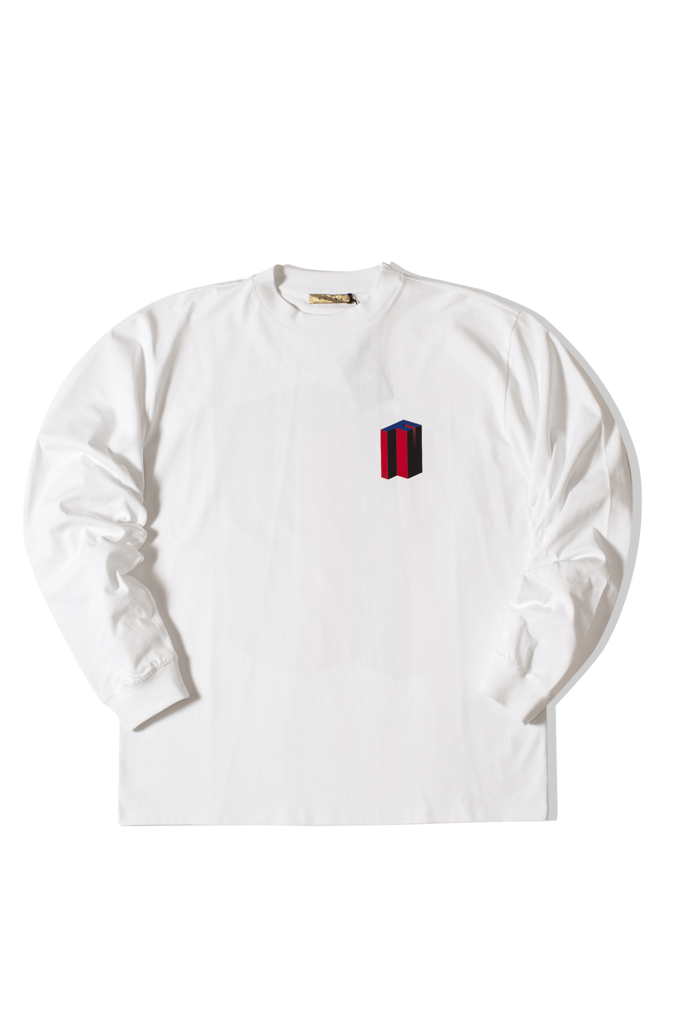 MW G FIT 3DF TEE L.S. White