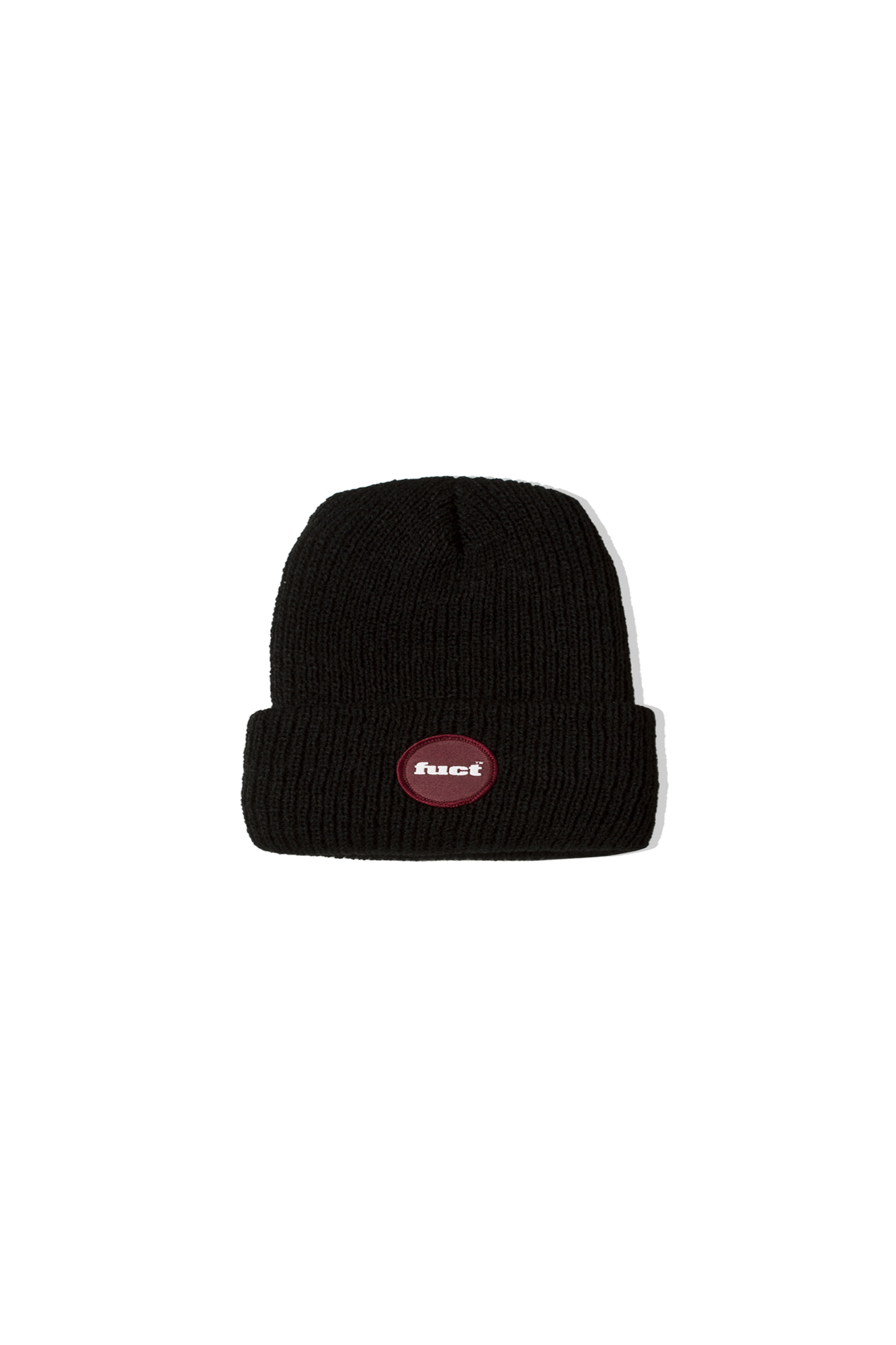 CIRCLE LOGO BEANIE Black