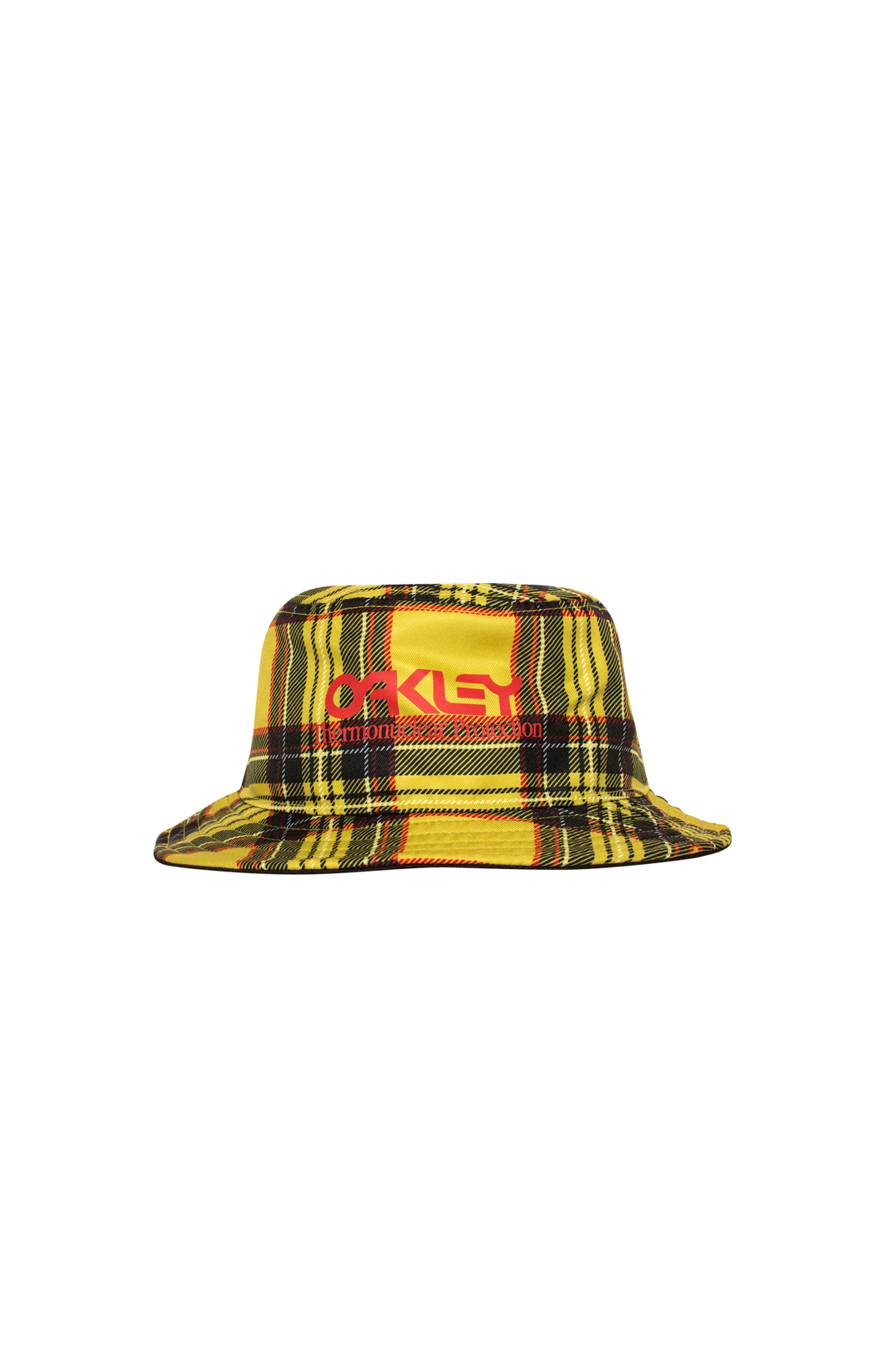 Tartan Bucket Yellow