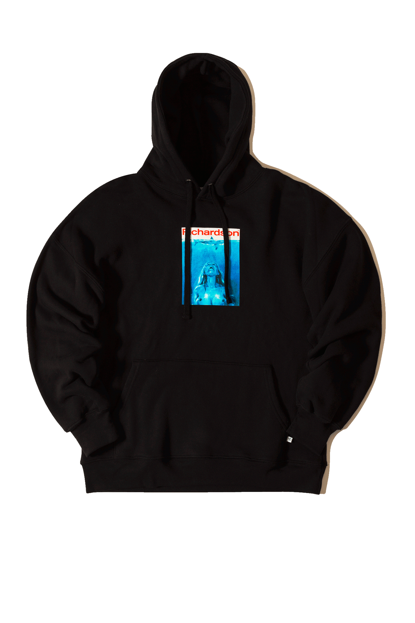Richardson Mag Sweaters Jaws Hoodie x FUCT Black FUCT004#000#BLACK#S - One Block Down