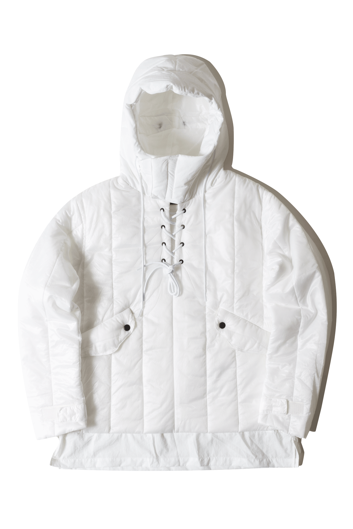 Nilmance Coats & Jackets Padded Layer Anorak White FW17AP07#000#WHITE#XS - One Block Down