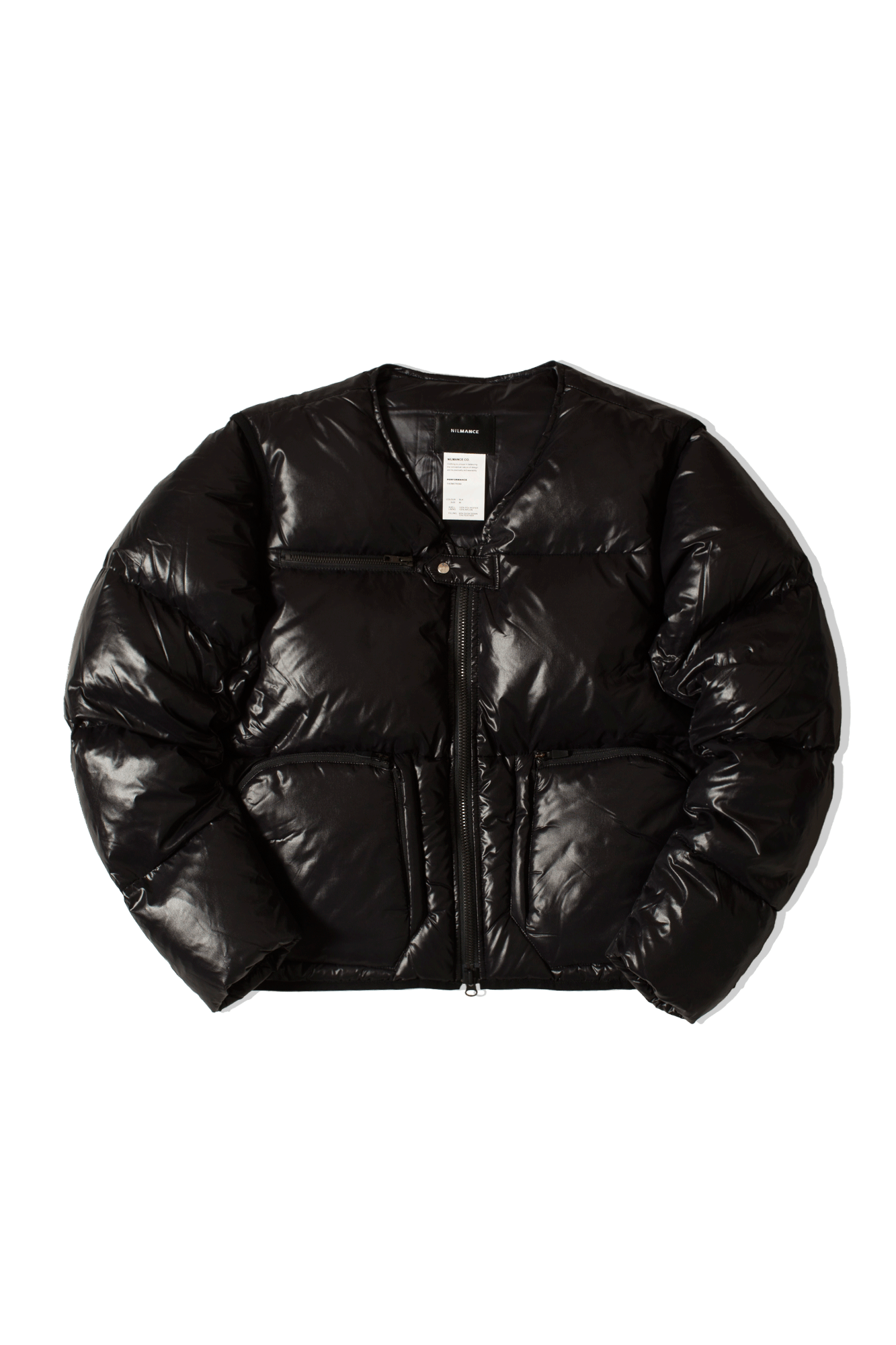 FW19-DJ-07 Down Jacket Black