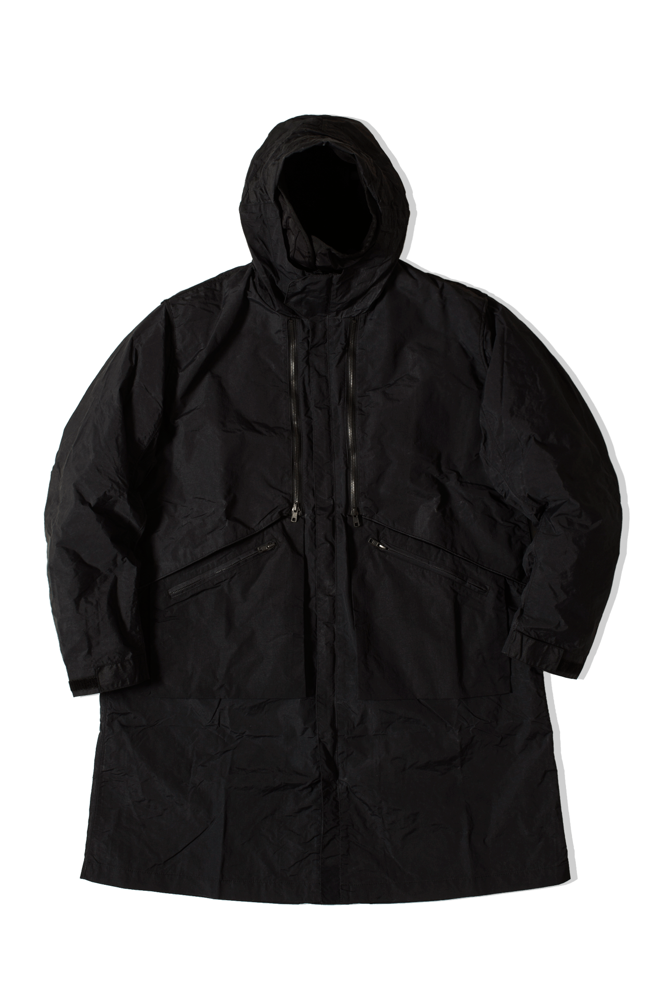FW19-MPK-03 Trench Coat Black