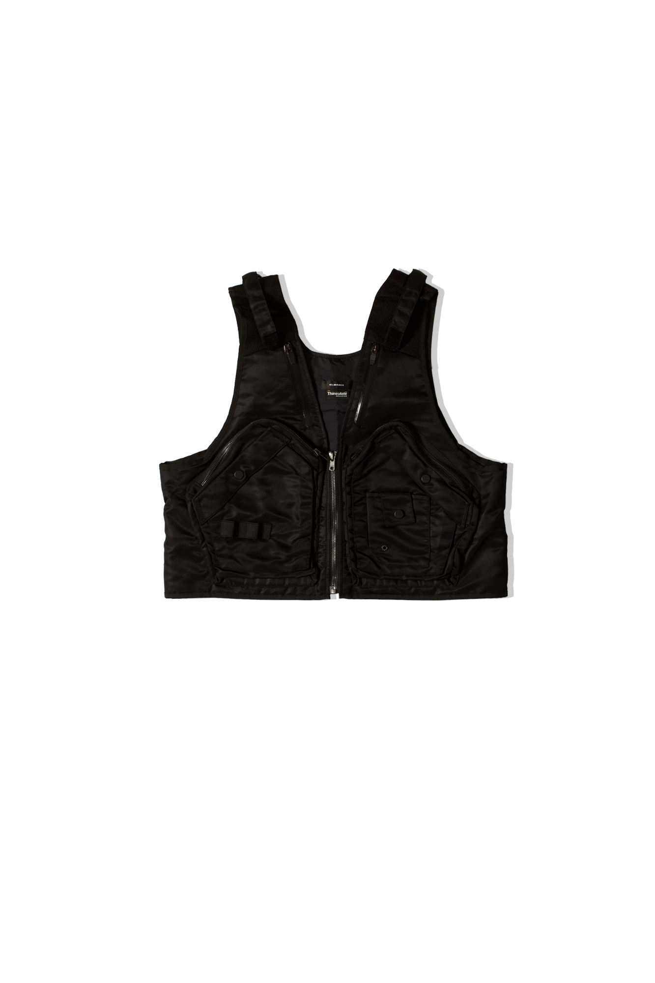 Nilmance Vest FW19-VB-01 Black FW19-VB-01#000#BLACK#S - One Block Down