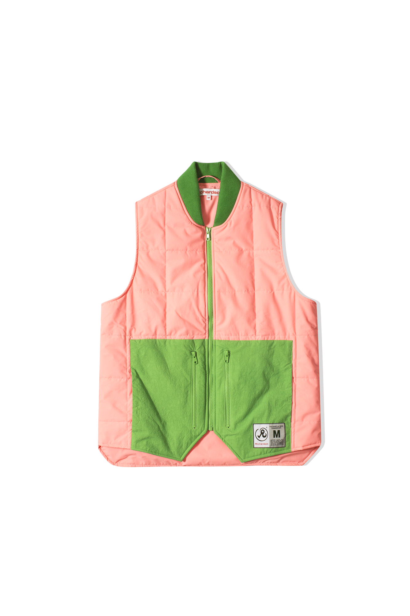 Quilted Vest Pink