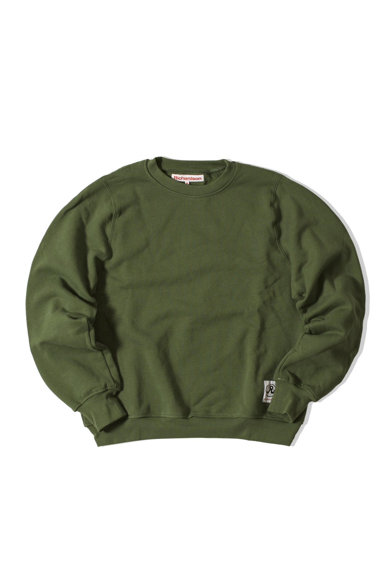 Engineered Crew Green
