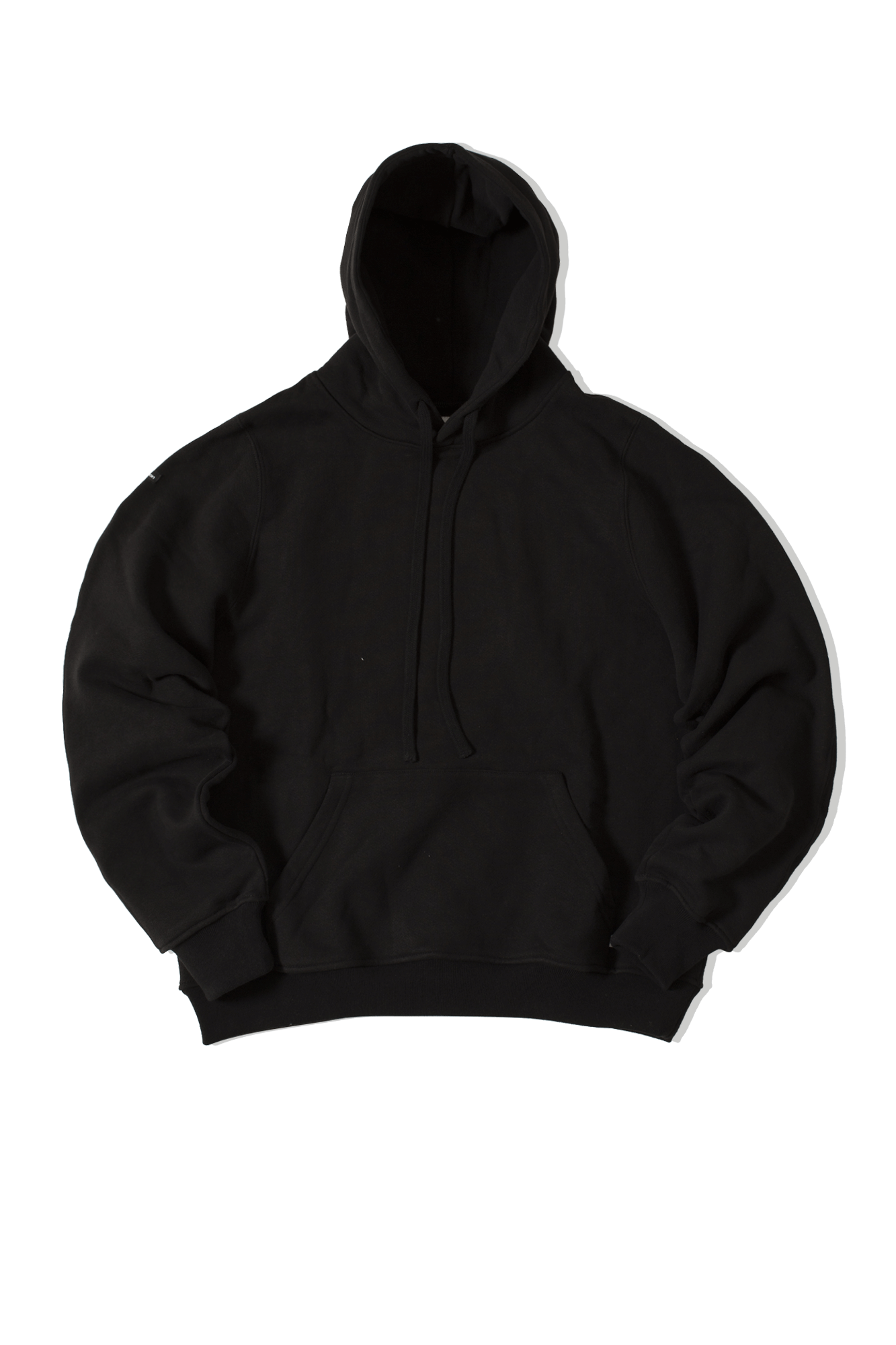Engineered Hoodie Black